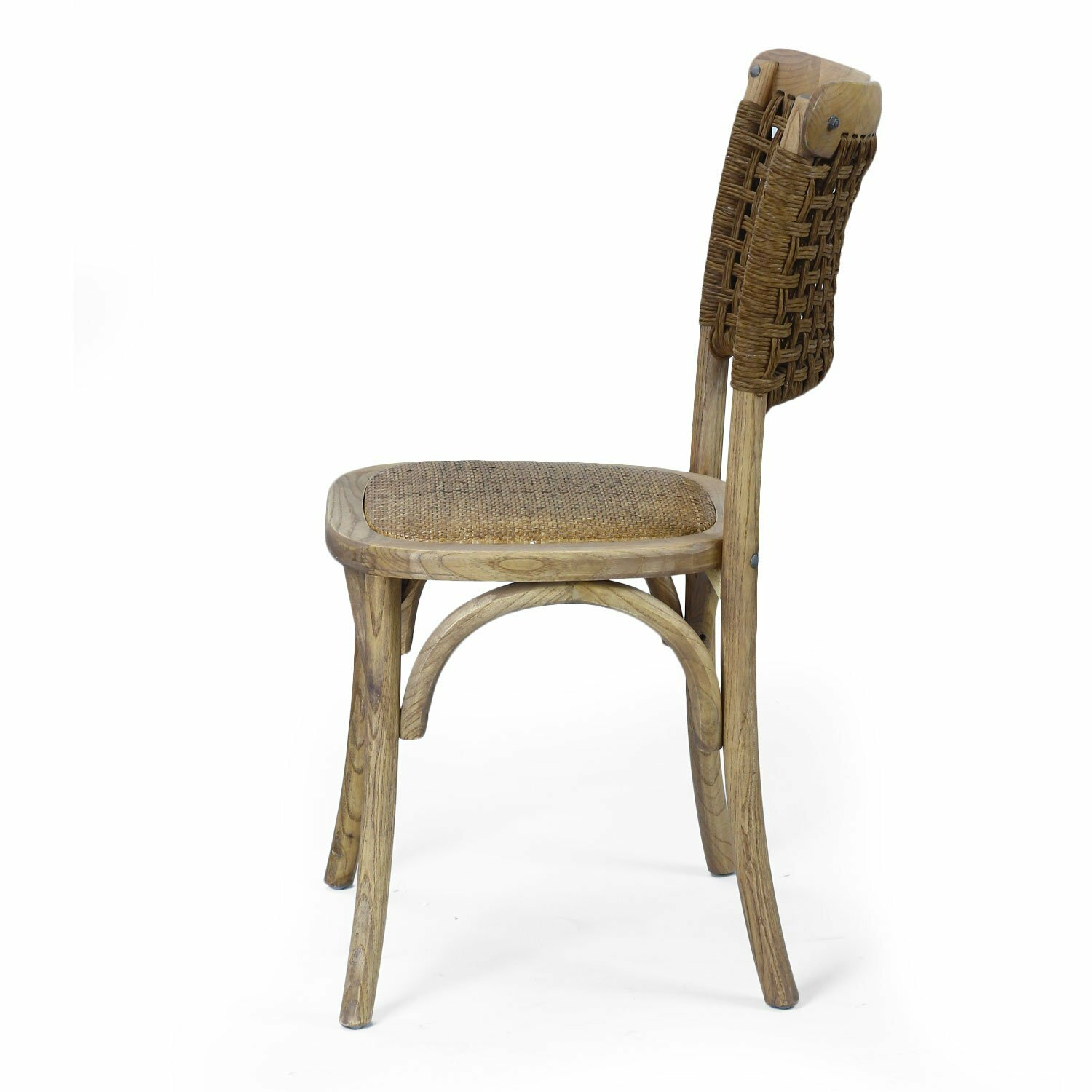 Adecotrading Dining Cane Side Chair Amp Reviews Wayfair