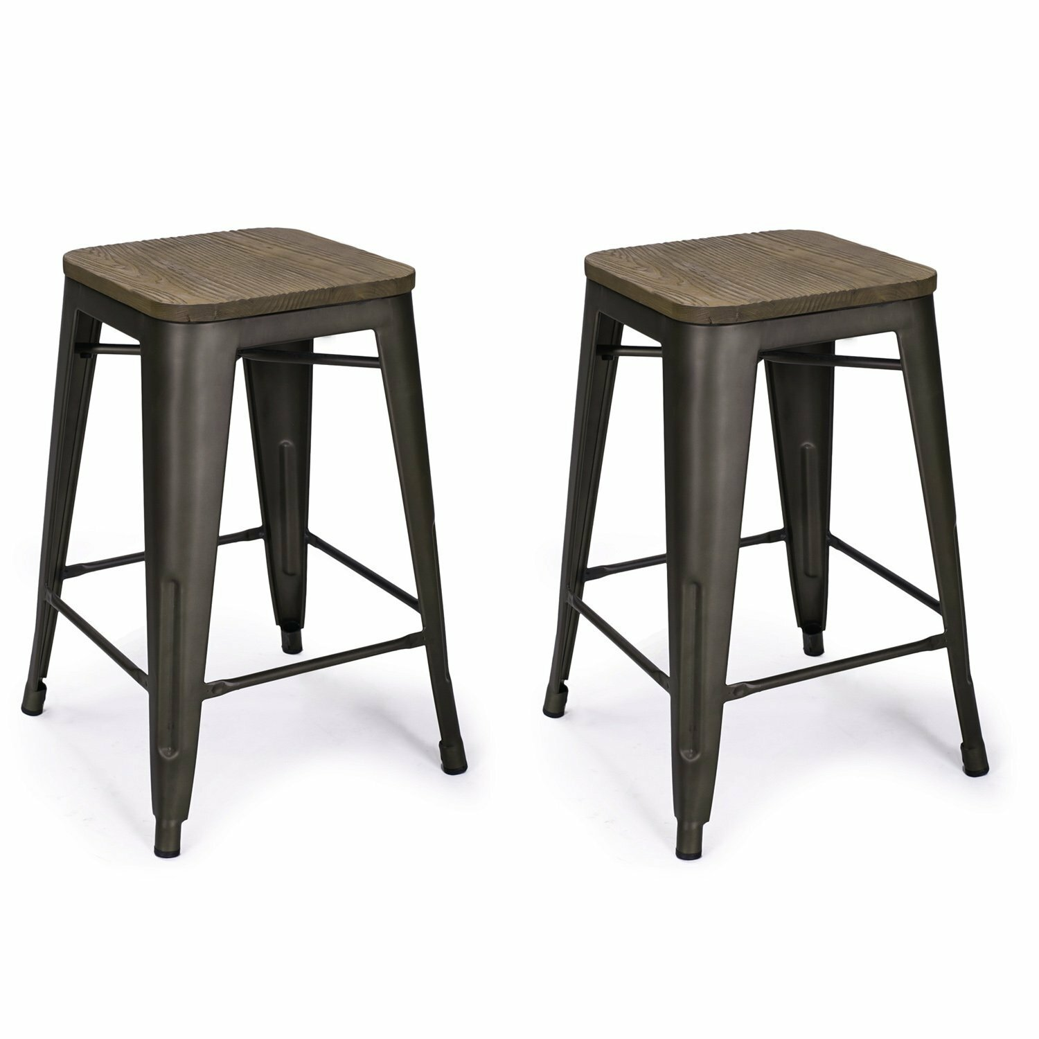 Adecotrading 24 Quot Bar Stool Amp Reviews Wayfair