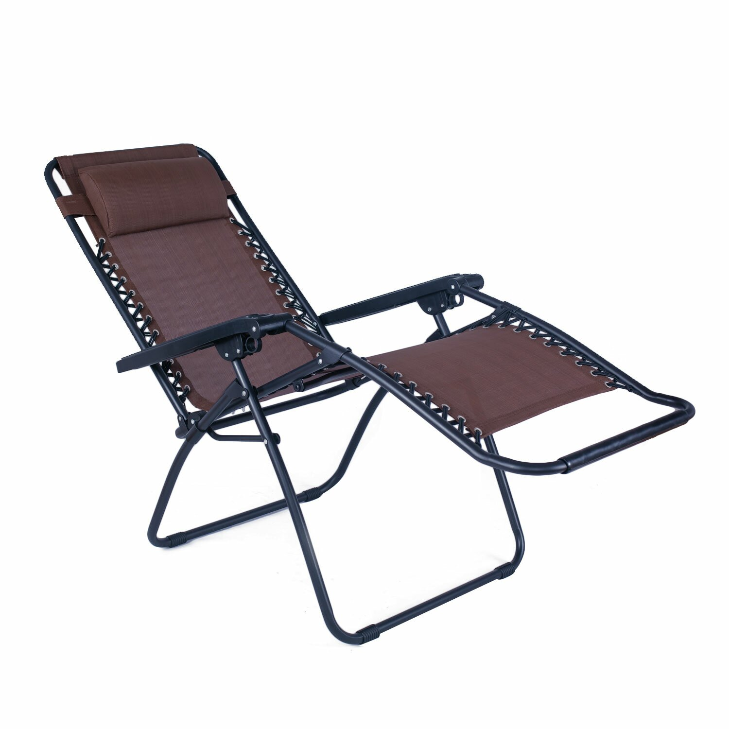 AdecoTrading Outdoor Folding and Reclining Zero Gravity Chair & Reviews