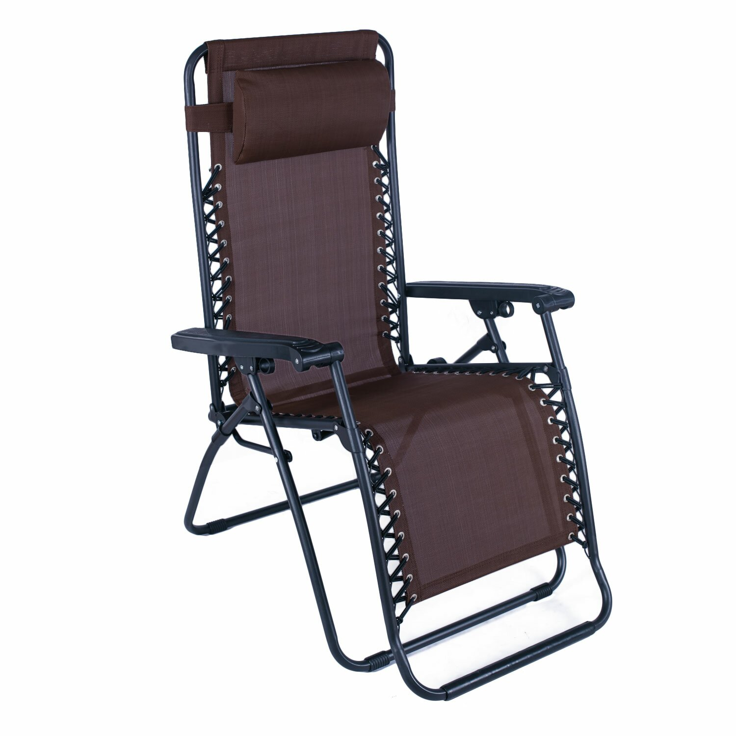 Adecotrading outdoor folding and reclining zero gravity for Living room zero gravity chair