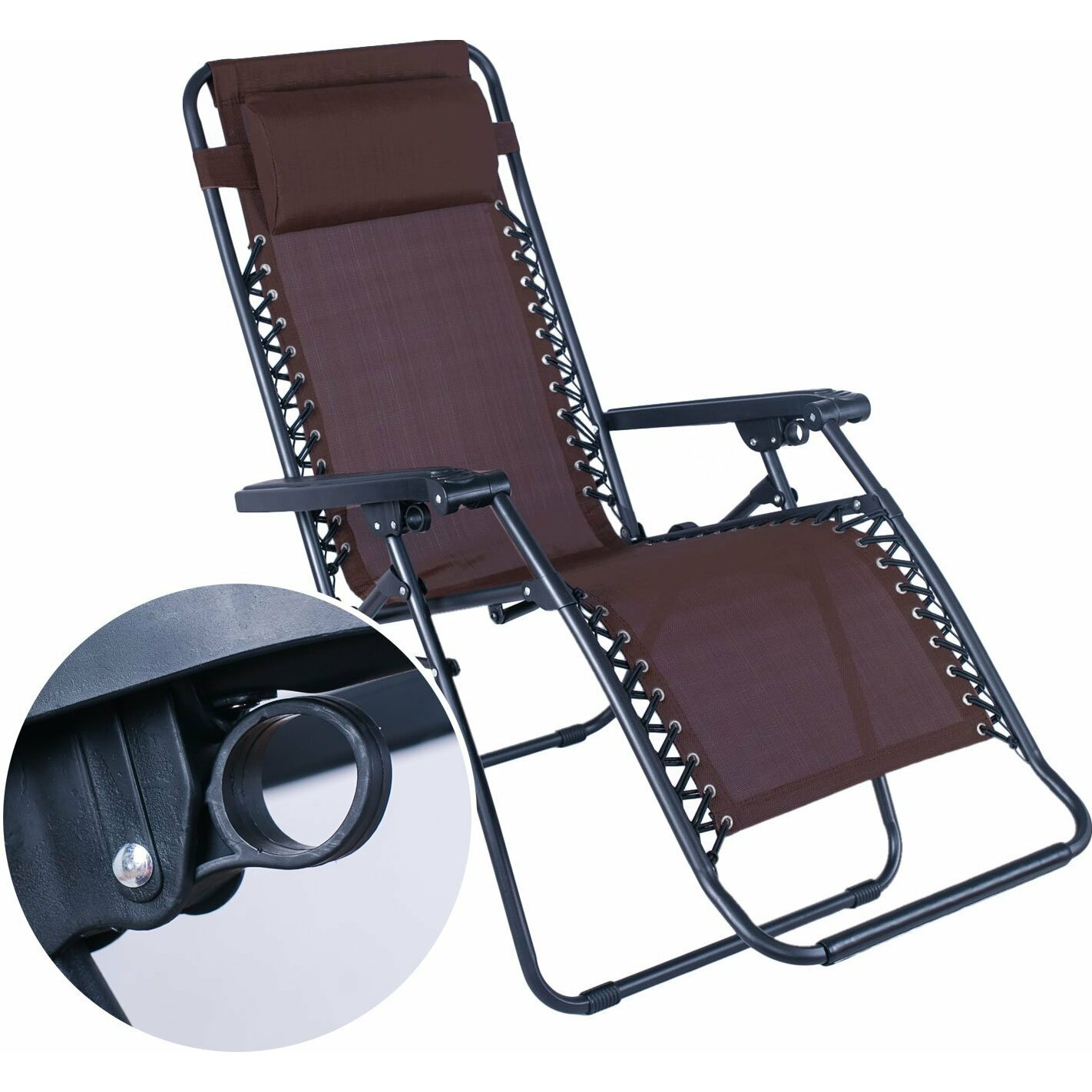 Adecotrading zero gravity chair reviews wayfair for Chair zero gravity
