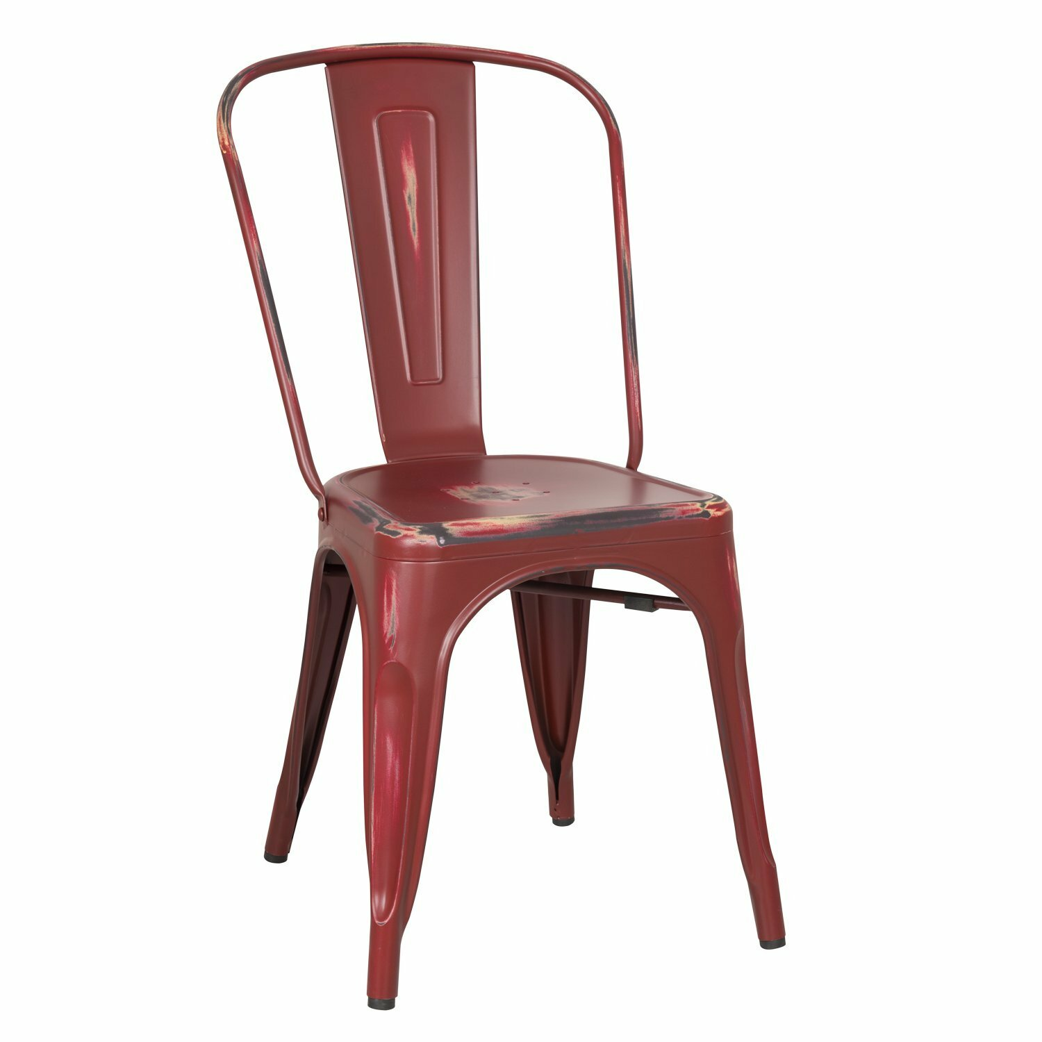 AdecoTrading Stackable Dining Side Chair & Reviews