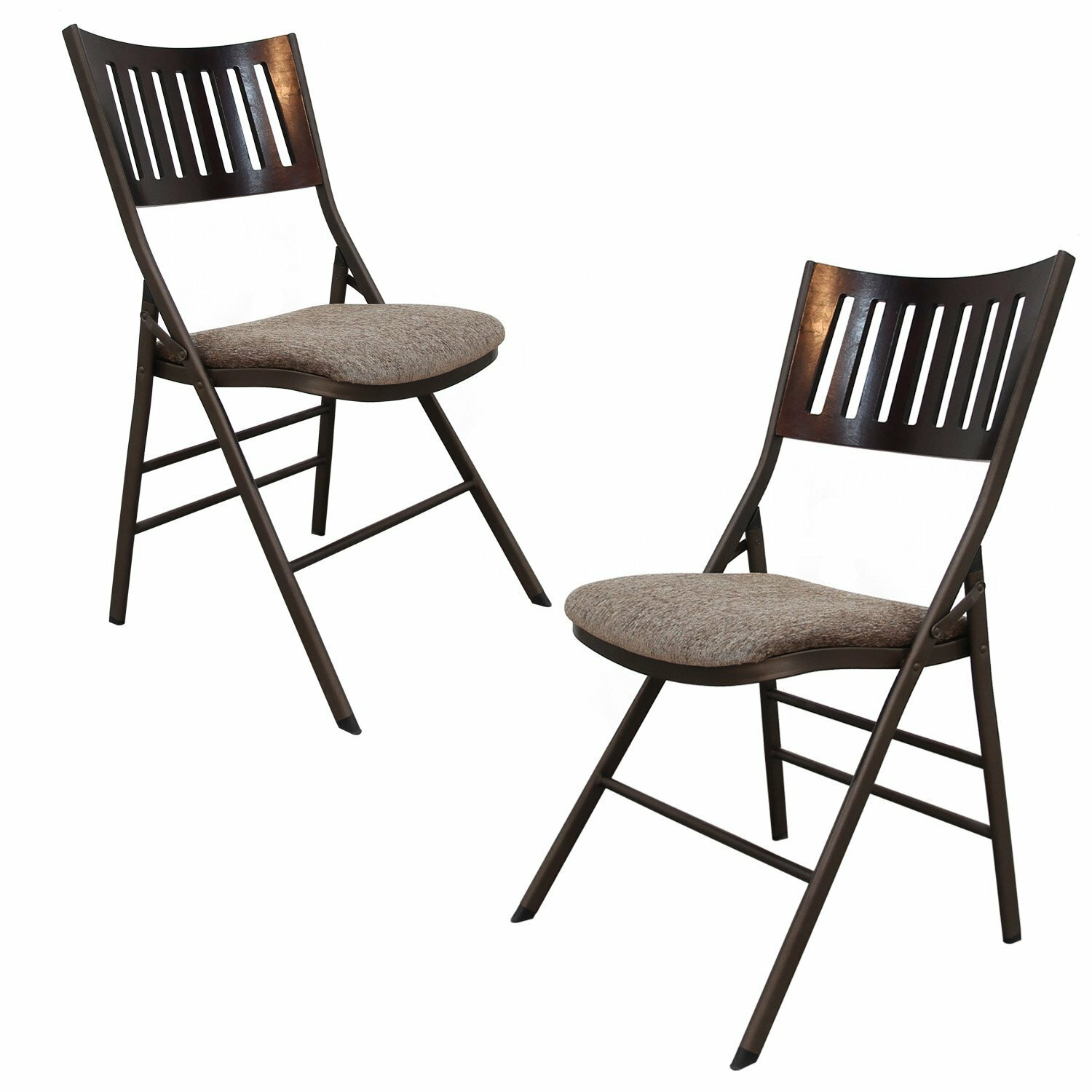 AdecoTrading Tubular Steel Folding Chair & Reviews