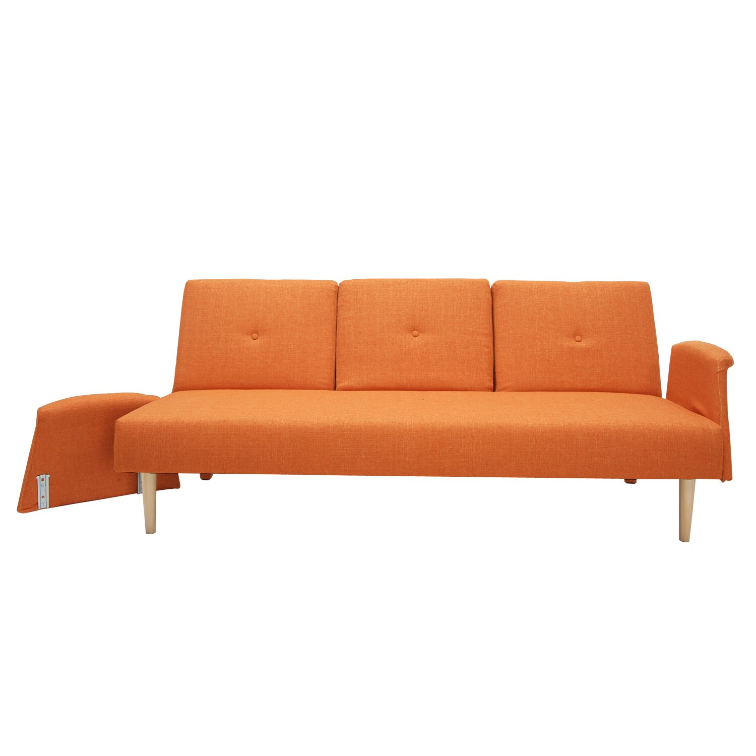 AdecoTrading Sleeper Sofa amp Reviews Wayfair : Adeco Fabric Fiber Sofa Bed Sofabed Lounge with Arm Soft Cushion Living Room Seat Wood legs e SF0003 SF0004 from www.wayfair.com size 1500 x 1500 jpeg 99kB