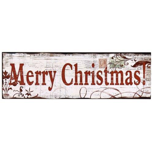 Adecotrading quot merry christmas wall décor wayfair