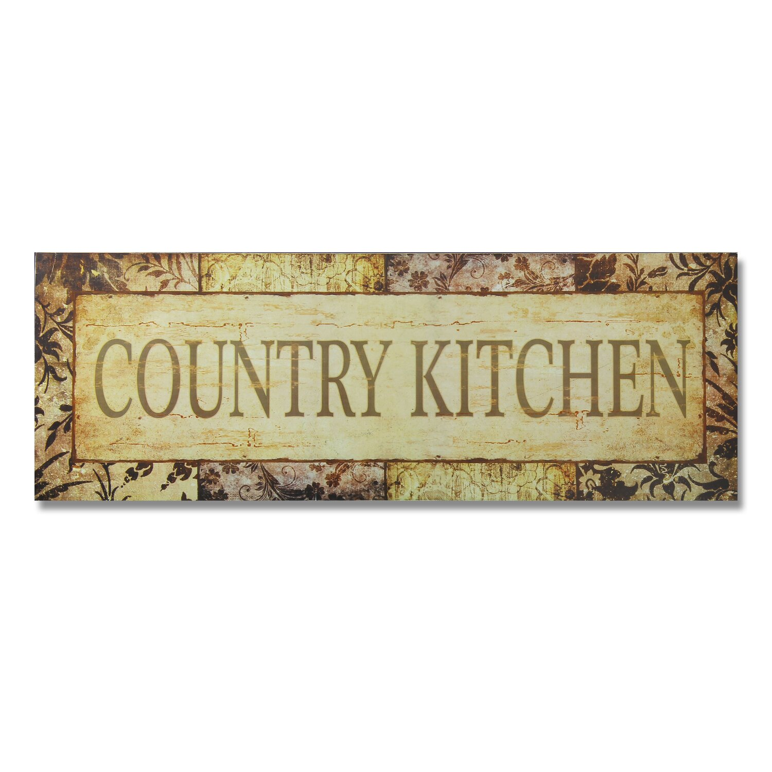 "AdecoTrading ""Country Kitchen"" Wall Décor"