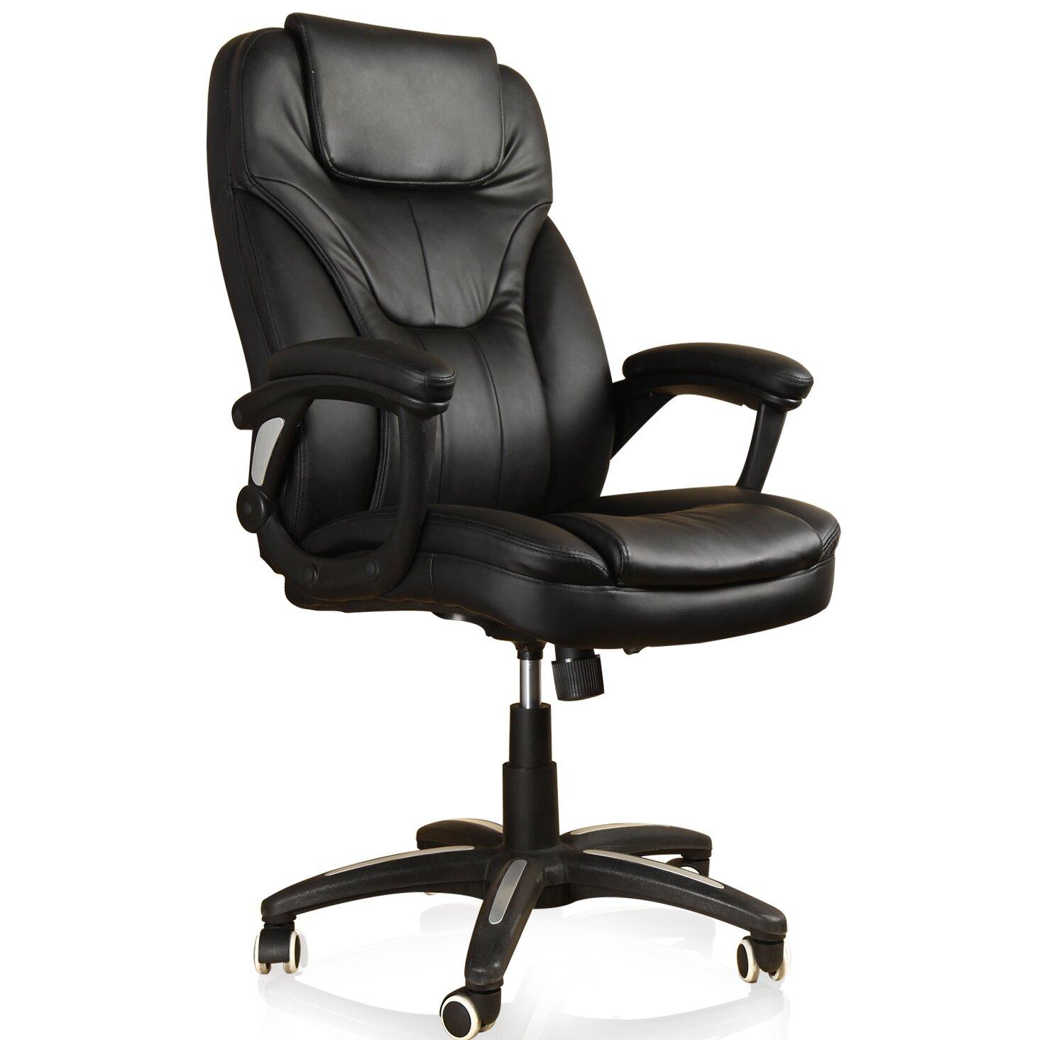 Adecotrading Deluxe High Back Executive Office Chair Wayfair