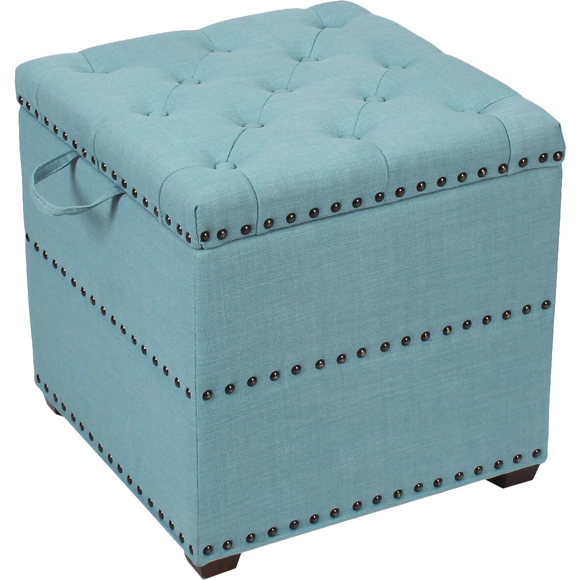 Adecotrading Square Cube Ottoman Reviews Wayfair