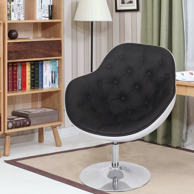 adecotrading egg shaped leisure arm chair wayfair