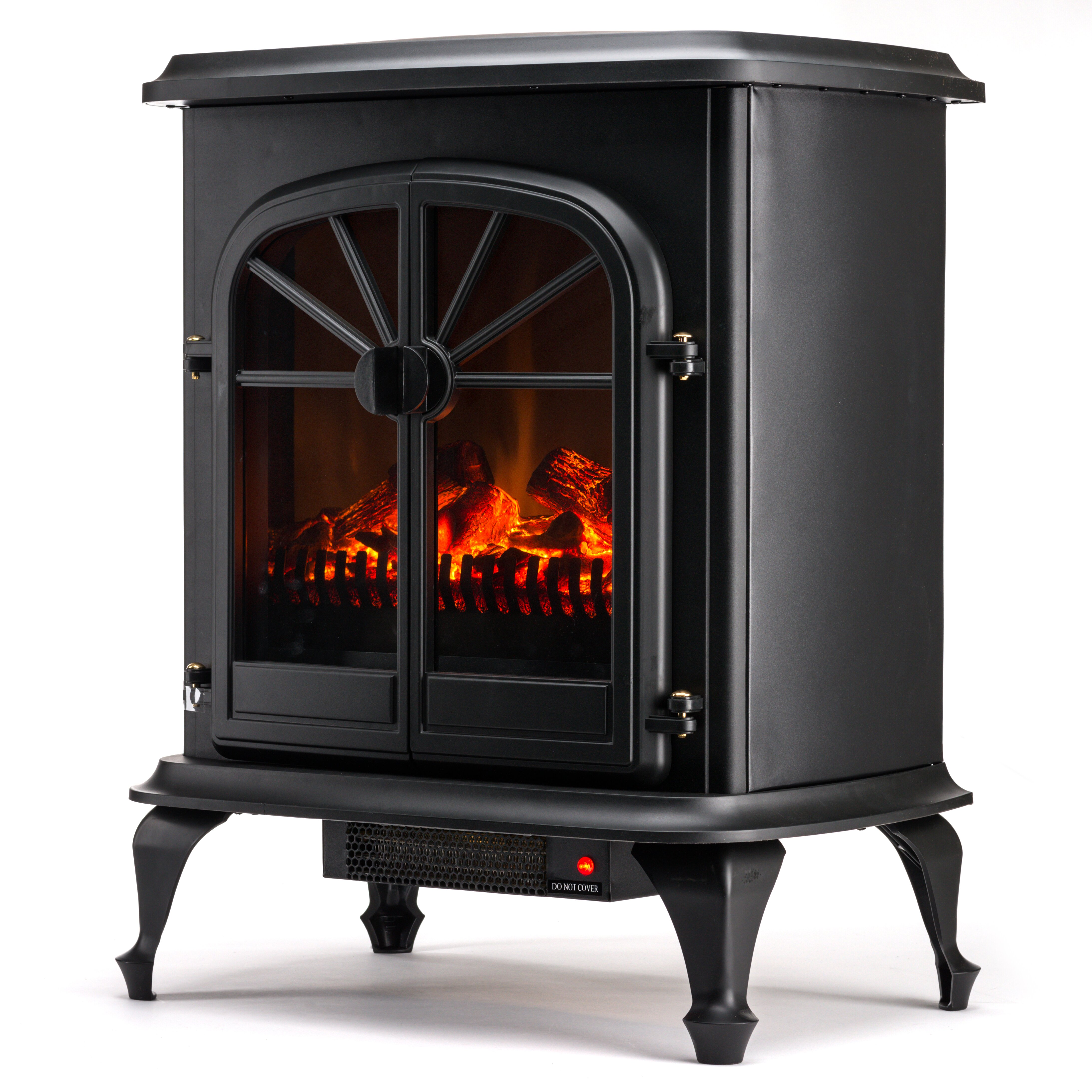 E flame wellington 400 square foot electric stove reviews wayfair - Reviews on electric stoves ...