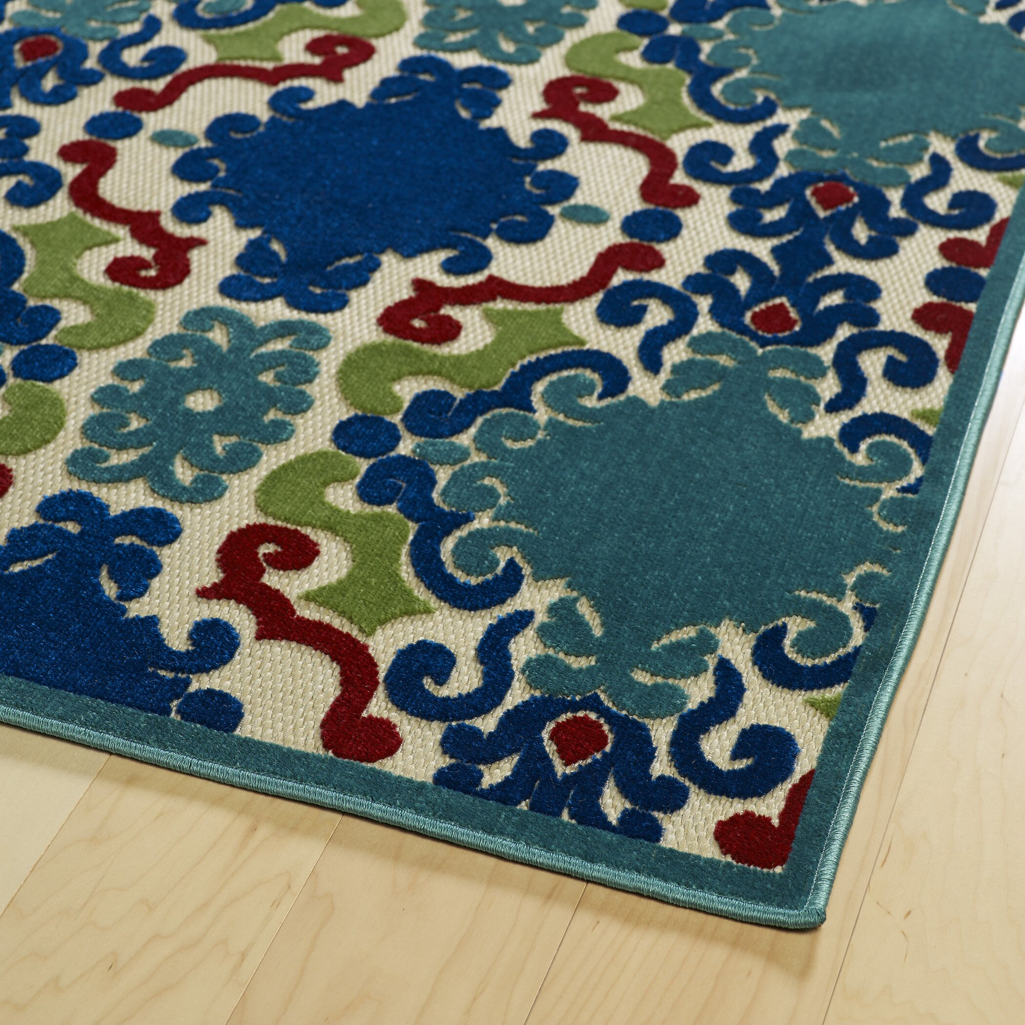 Kaleen Helena Turquoise Area Rug Reviews: Kaleen A Breath Of Fresh Air Machine Woven Turquoise