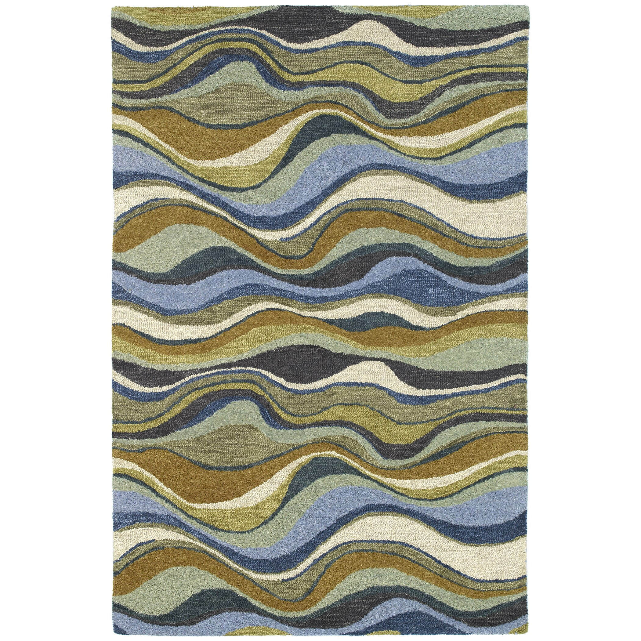 Kaleen Brooklyn Brody Rug: Kaleen Casual Blue Alder Area Rug & Reviews