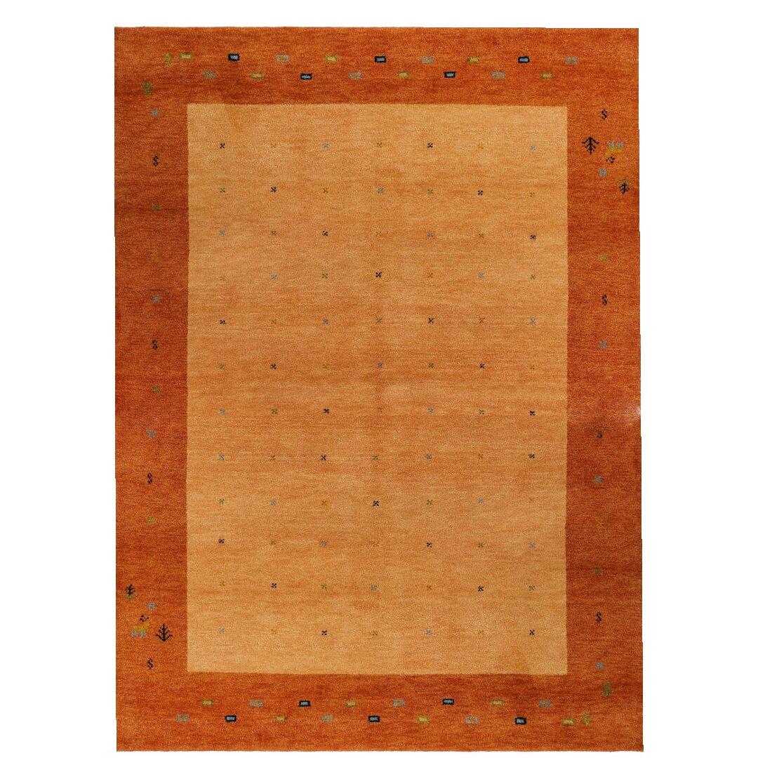 parwis handgekn pfter teppich indo gabbeh daria in rost. Black Bedroom Furniture Sets. Home Design Ideas