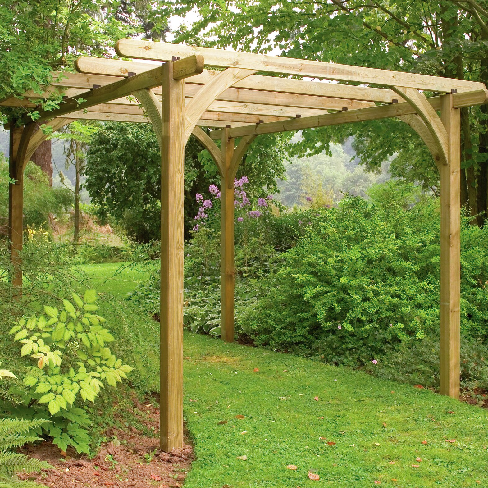 forest garden ultima pergola reviews wayfair uk. Black Bedroom Furniture Sets. Home Design Ideas