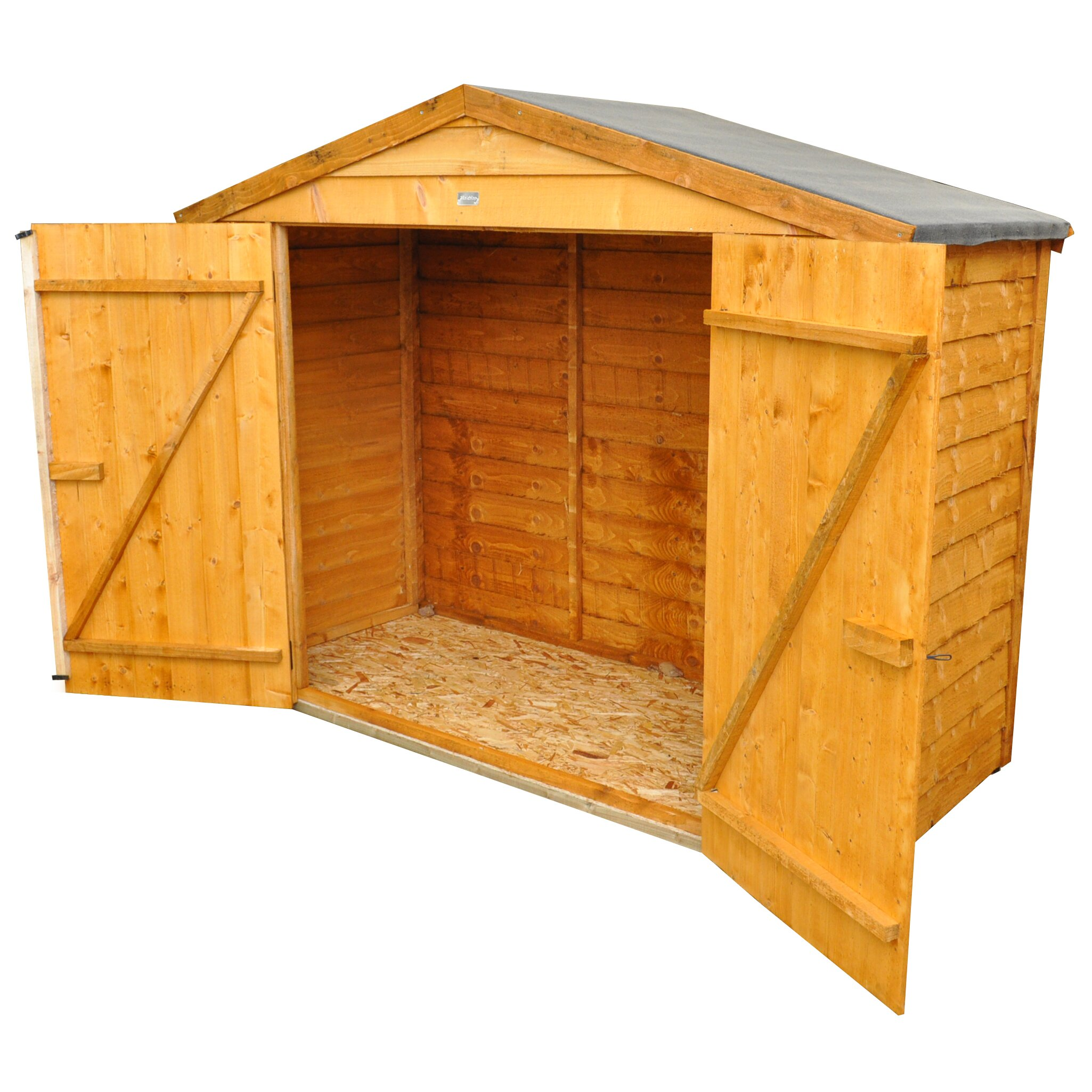 Forest garden 6 x 3 wooden bike shed reviews wayfair uk for Garden shed 7 x 3