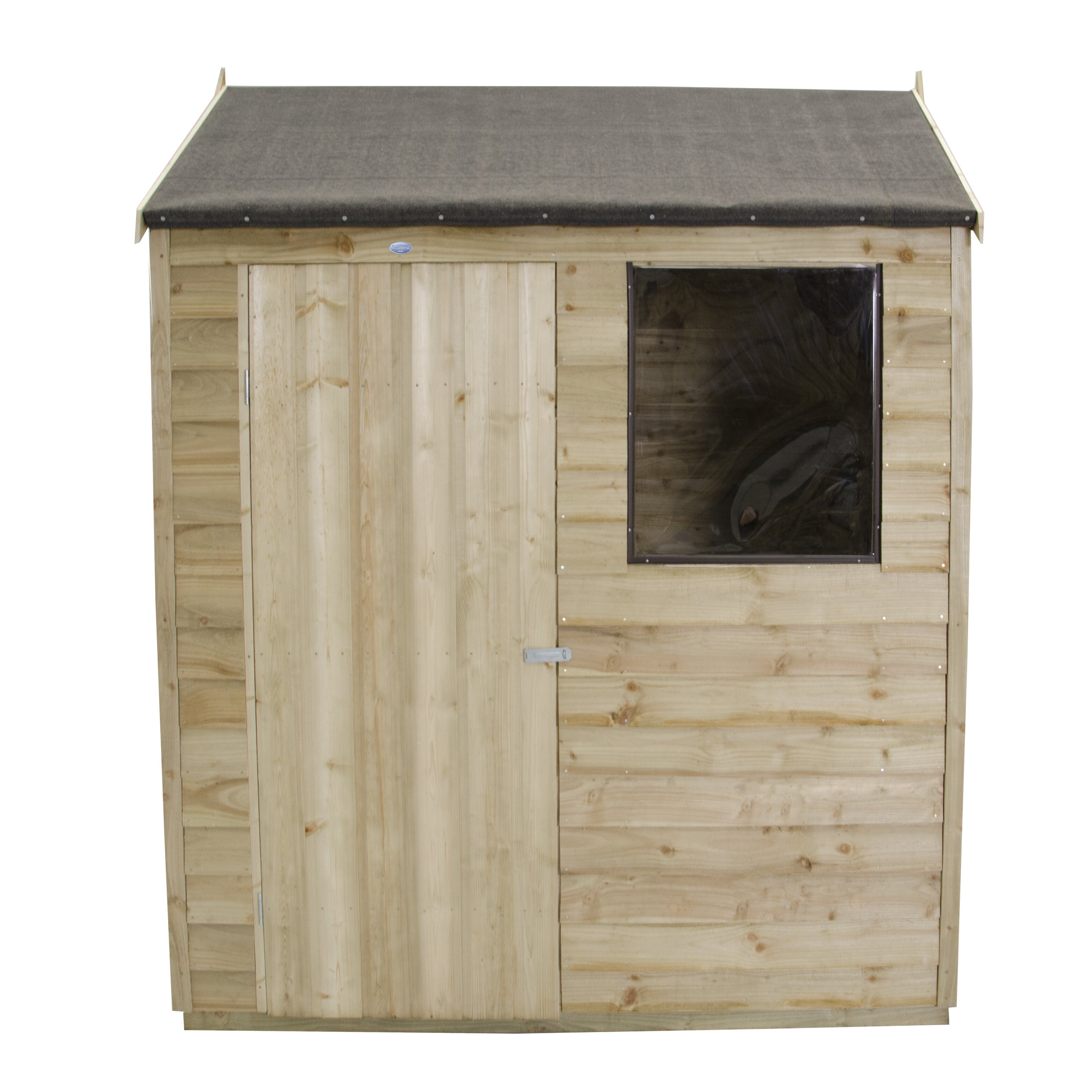 forest garden 6 x 4 wooden storage shed wayfair uk. Black Bedroom Furniture Sets. Home Design Ideas