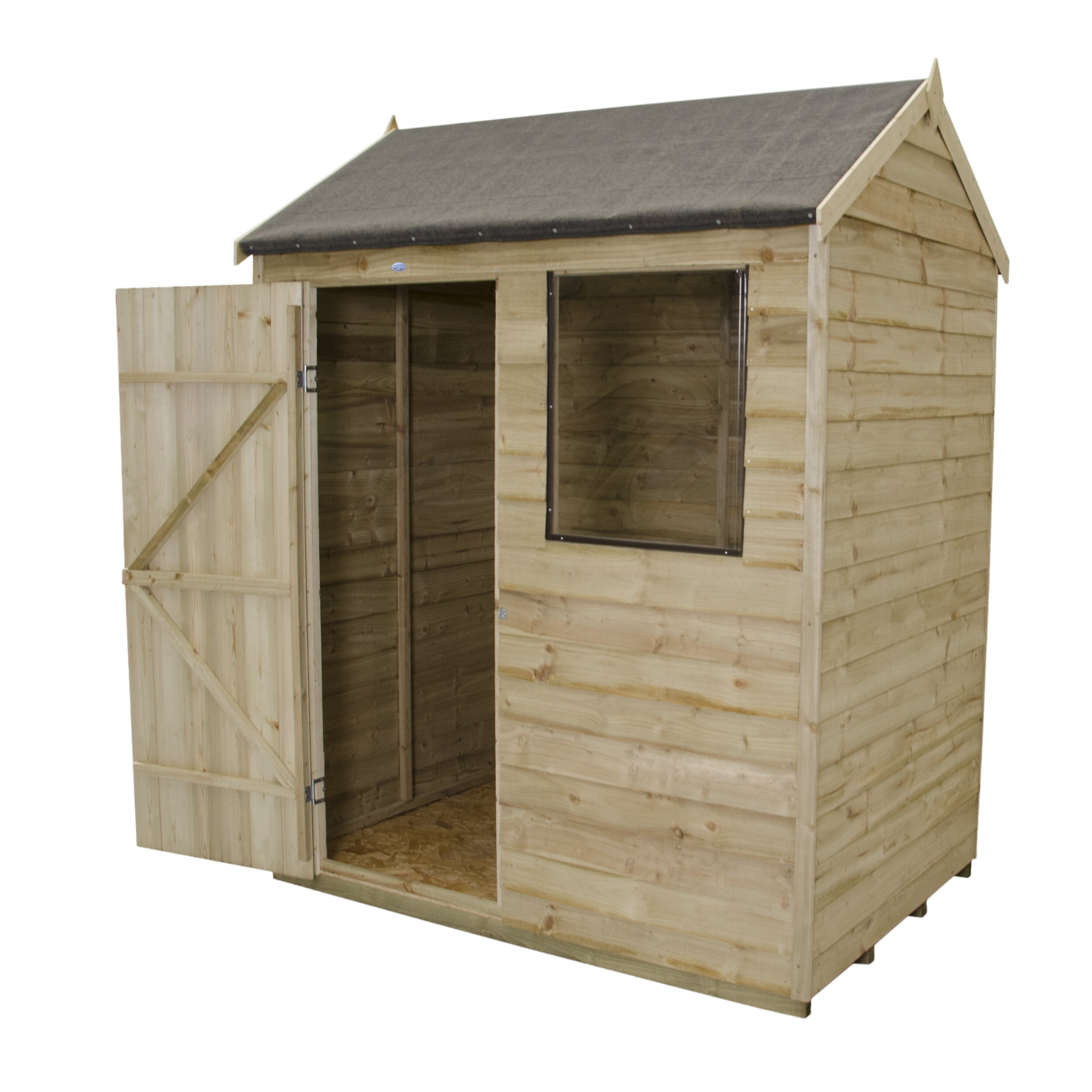Forest garden 6 x 4 wooden storage shed wayfair uk for Garden shed 4 x 2