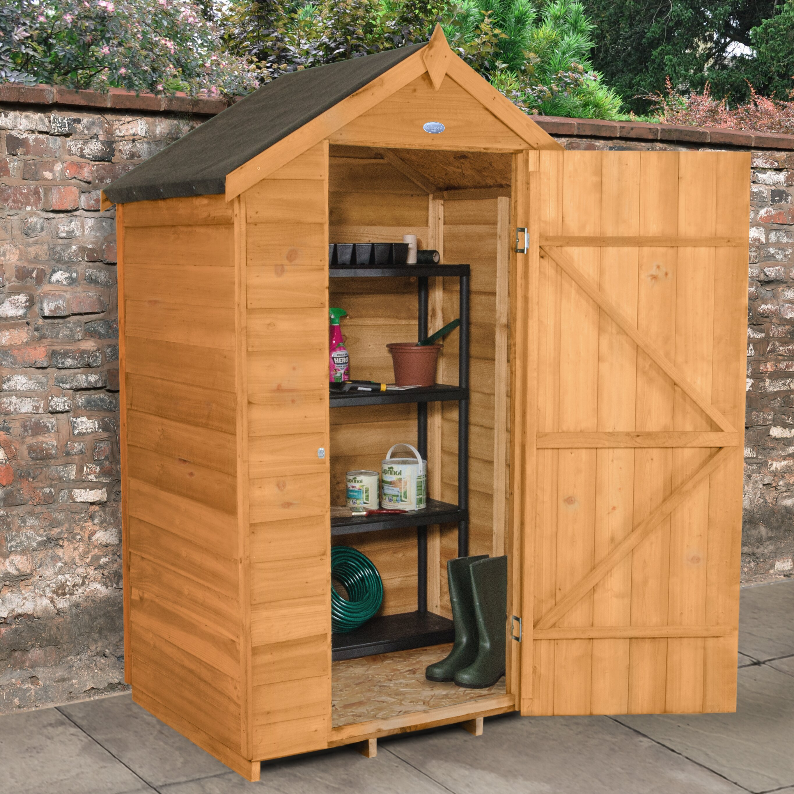 Forest Garden 4 X 3 Wooden Storage Shed