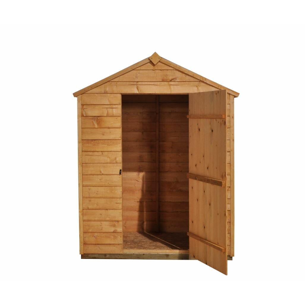 Forest garden 5 x 3 wooden storage shed reviews wayfair uk for Wooden garden storage shed