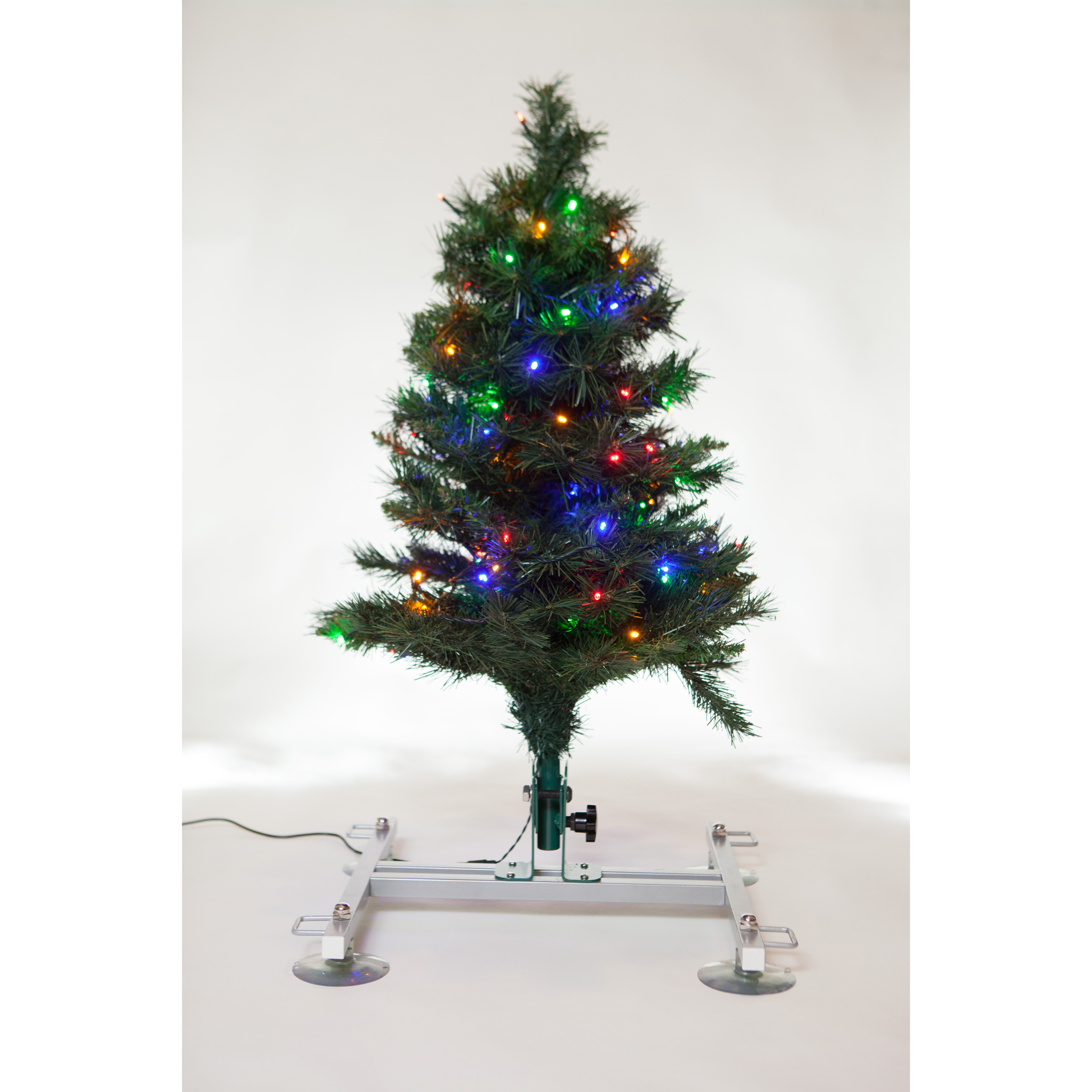 Just solutions green artificial christmas tree with
