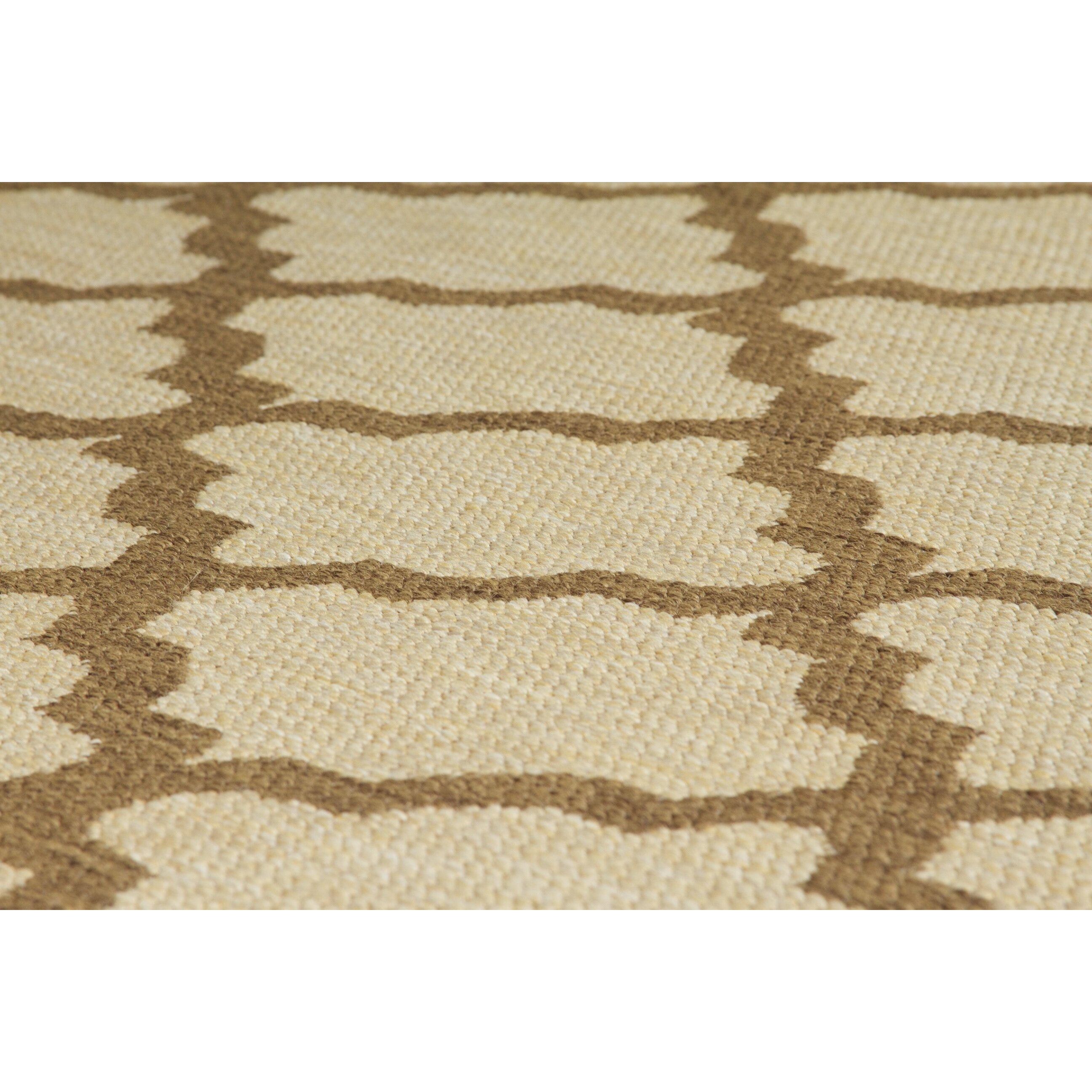oriental weavers teppich trellis flatweave in beige von manufacturer. Black Bedroom Furniture Sets. Home Design Ideas