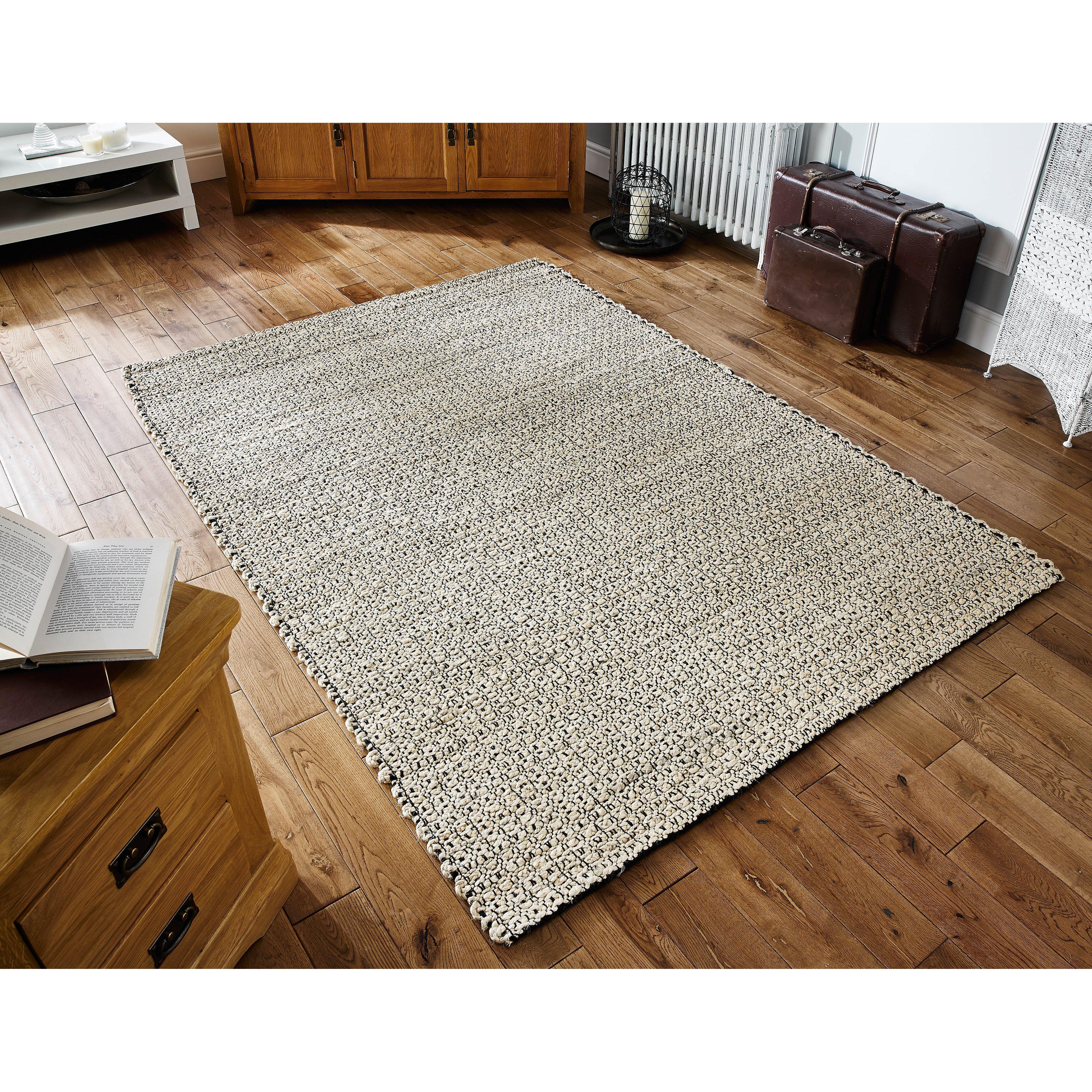 Oriental Weavers Handgewebter Teppich Oslo in Creme
