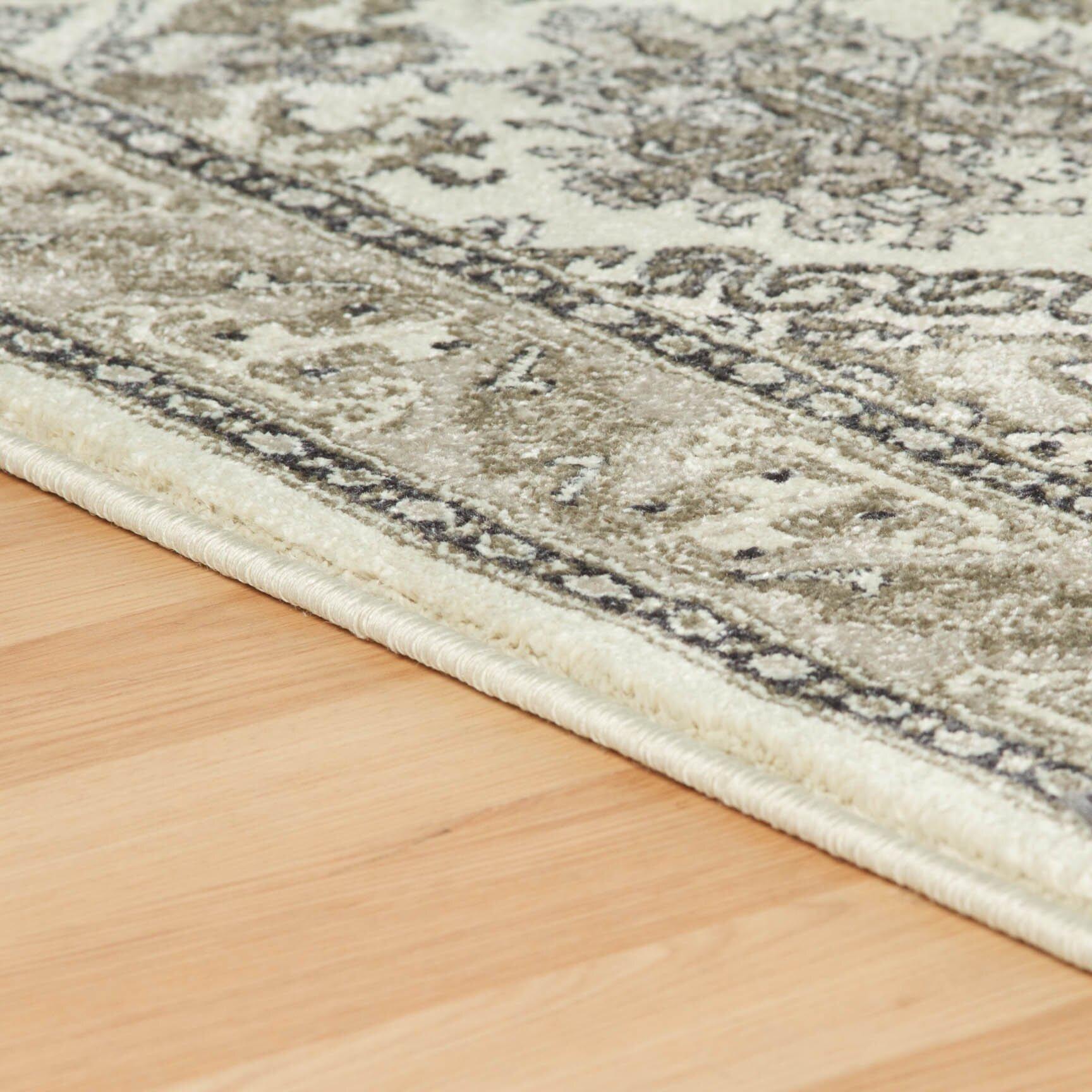 oriental weavers teppich richmond in creme grau. Black Bedroom Furniture Sets. Home Design Ideas