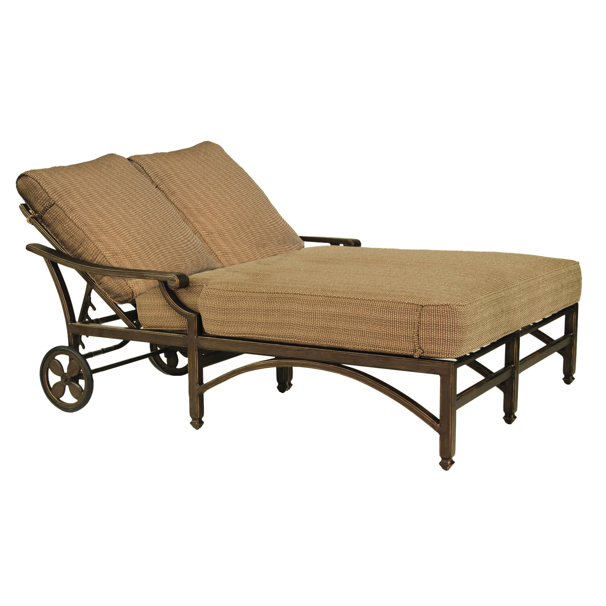 Pride Family Brands Grand Regent Double Chaise Lounge with