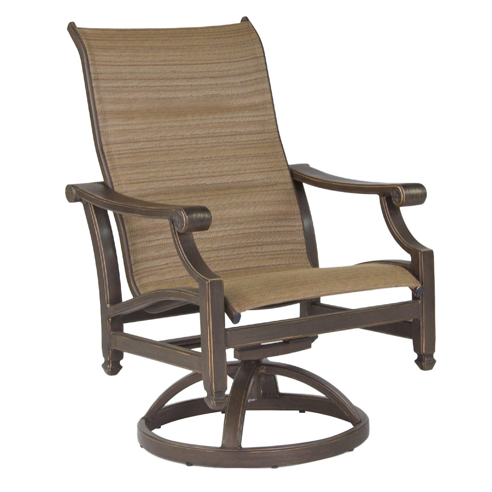 Pride Family Brands Grand Regent Sling Swivel Chair Wayfair