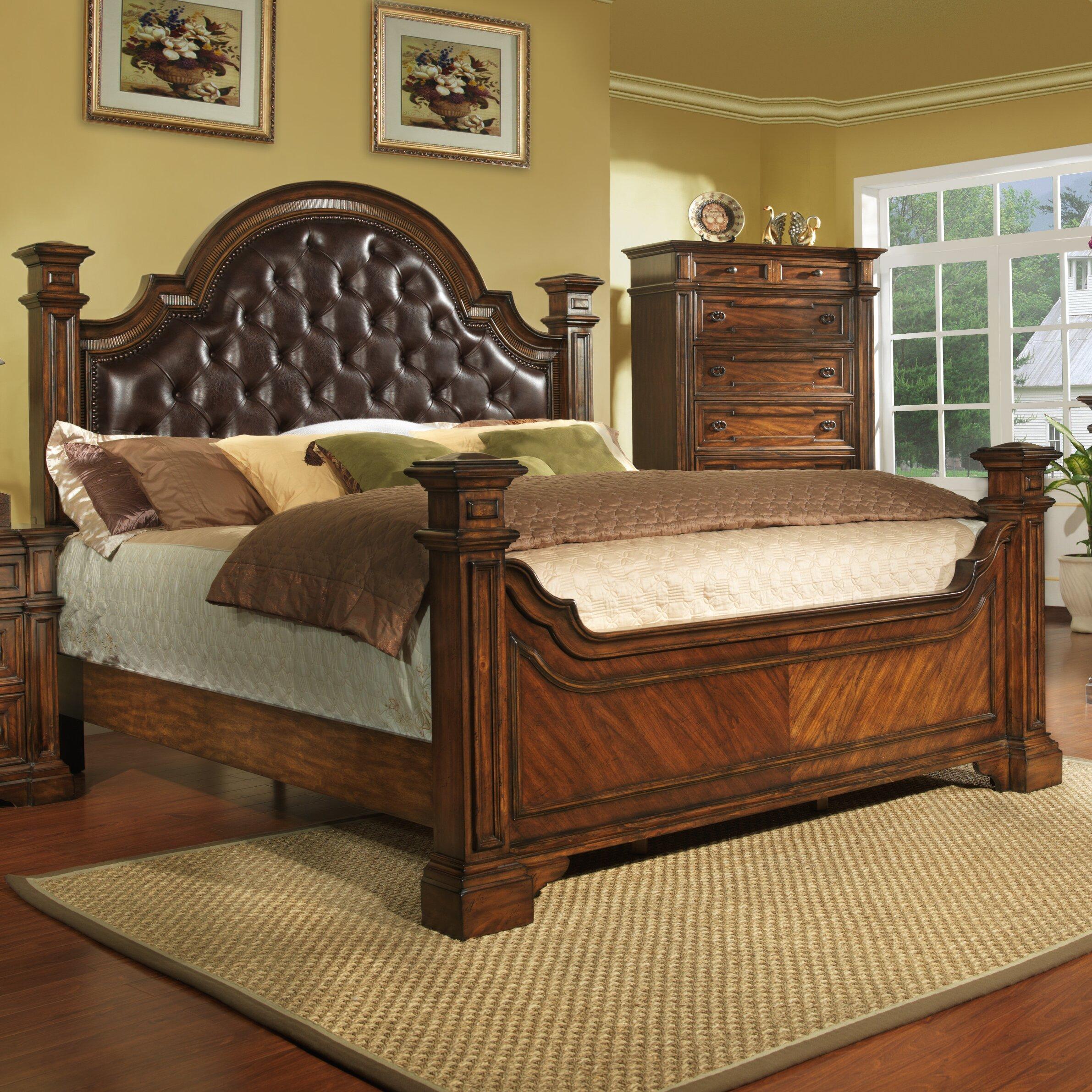avalon furniture highland ridge panel customizable bedroom
