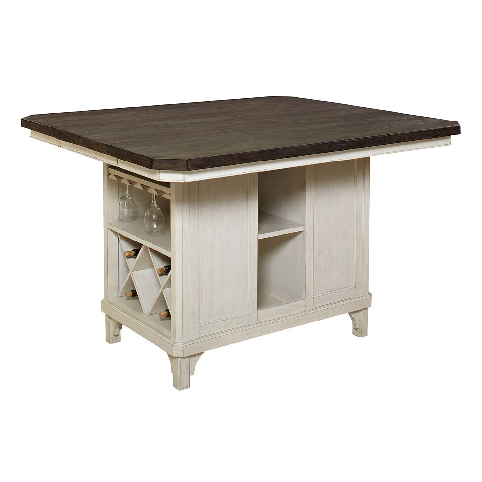 Avalon Furniture Mystic Cay Kitchen Island Reviews Wayfair