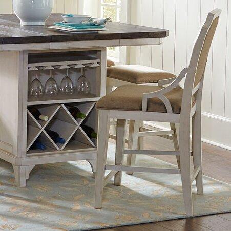 Avalon Furniture Mystic Cay Kitchen Island Amp Reviews Wayfair