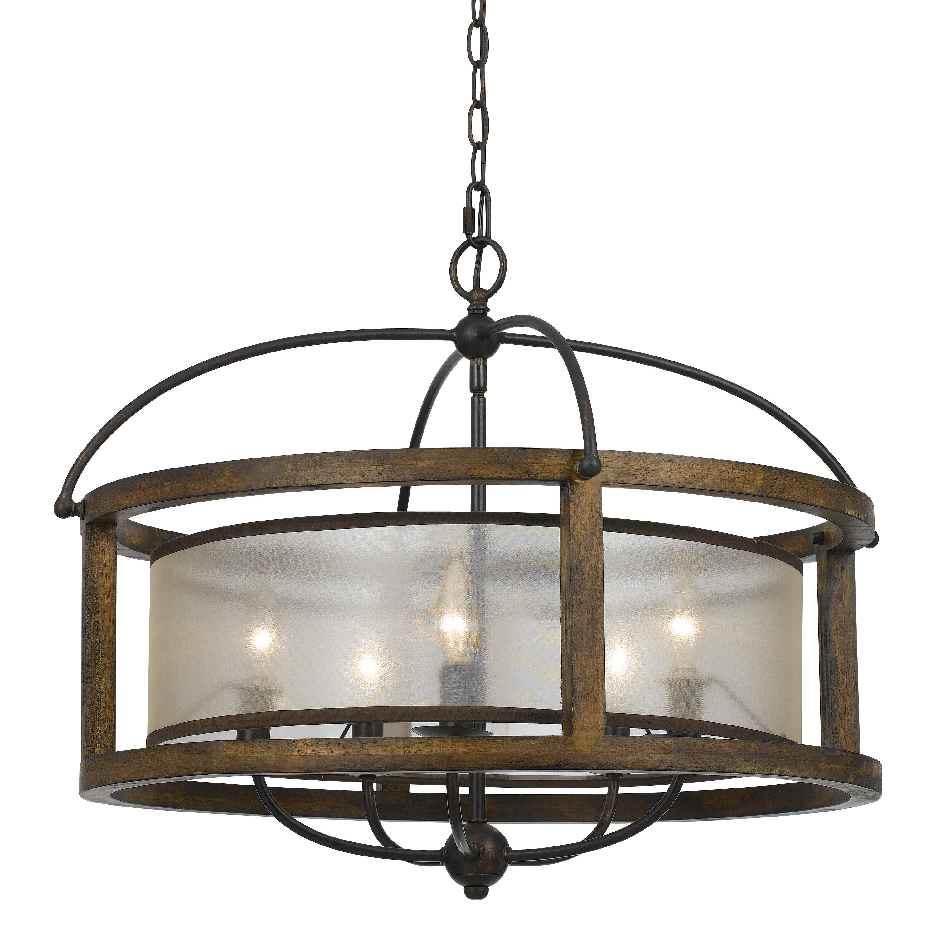 cal lighting mission 5 light drum chandelier chandeliers pendants wayfair drum lighting