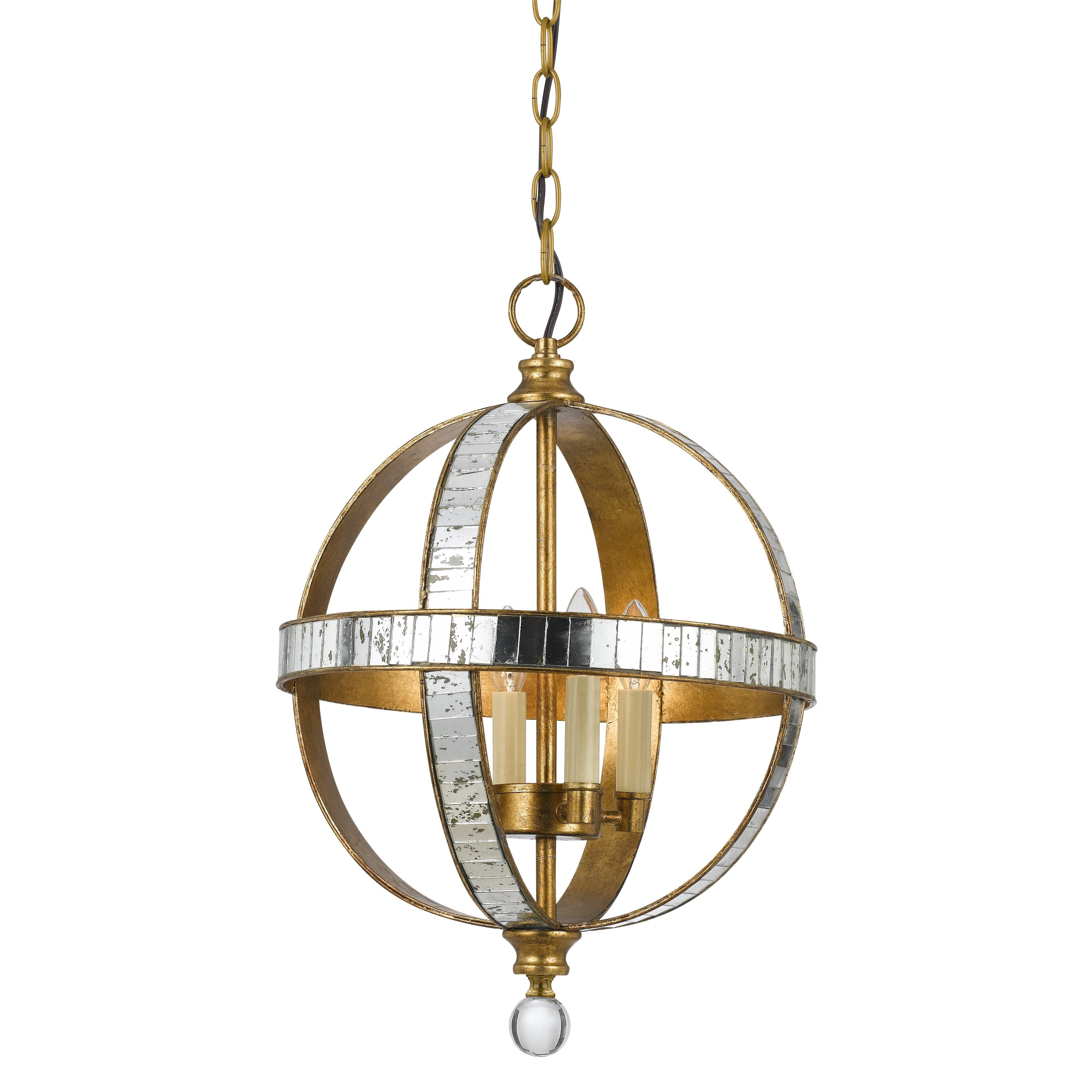 Cal Lighting Passe 4 Light Globe Pendant Amp Reviews