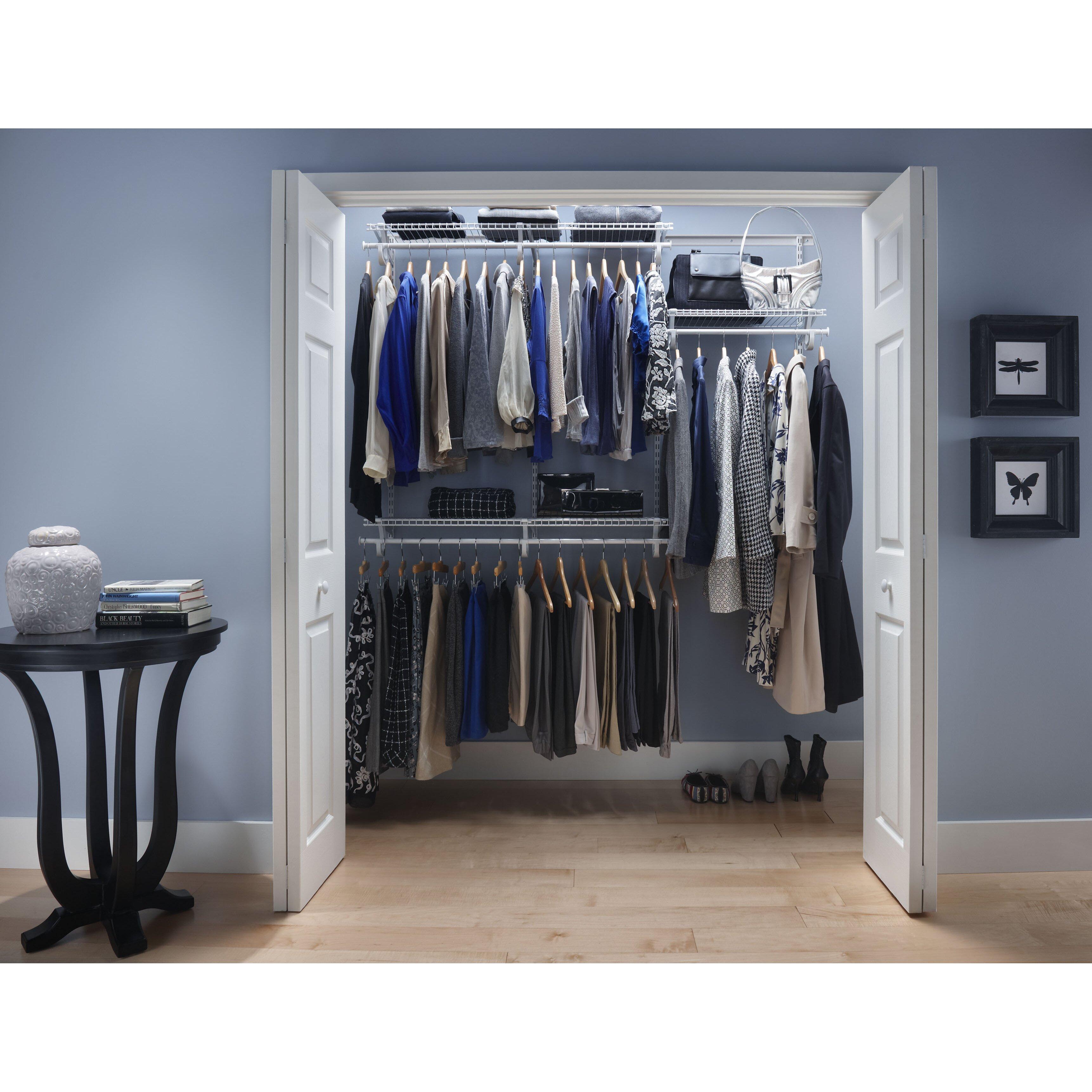 Closetmaid Shelftrack 48 Quot 72 Quot Wide Adjustable Closet