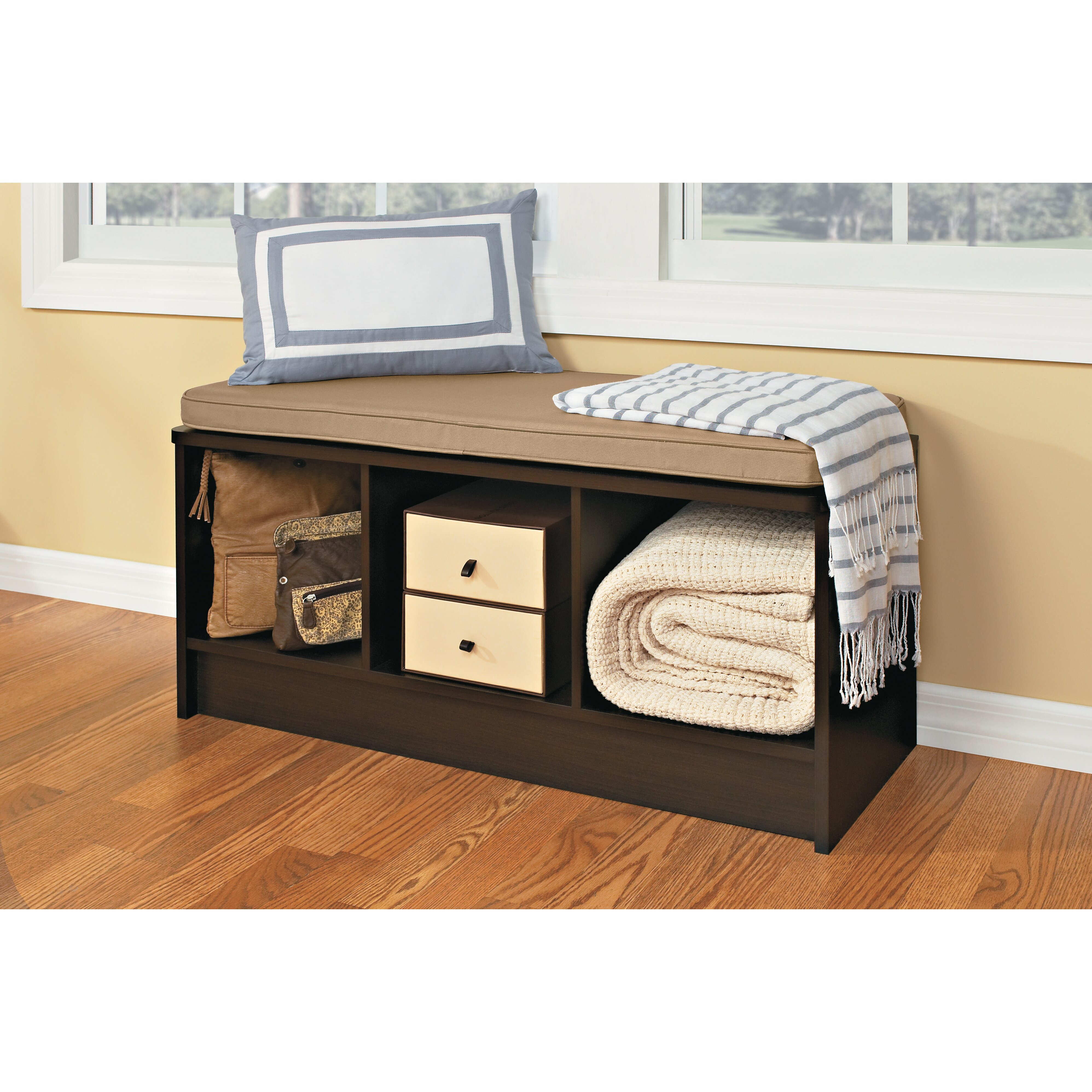 Closetmaid Cubeicals 3 Cube Storage Bench Reviews Wayfair
