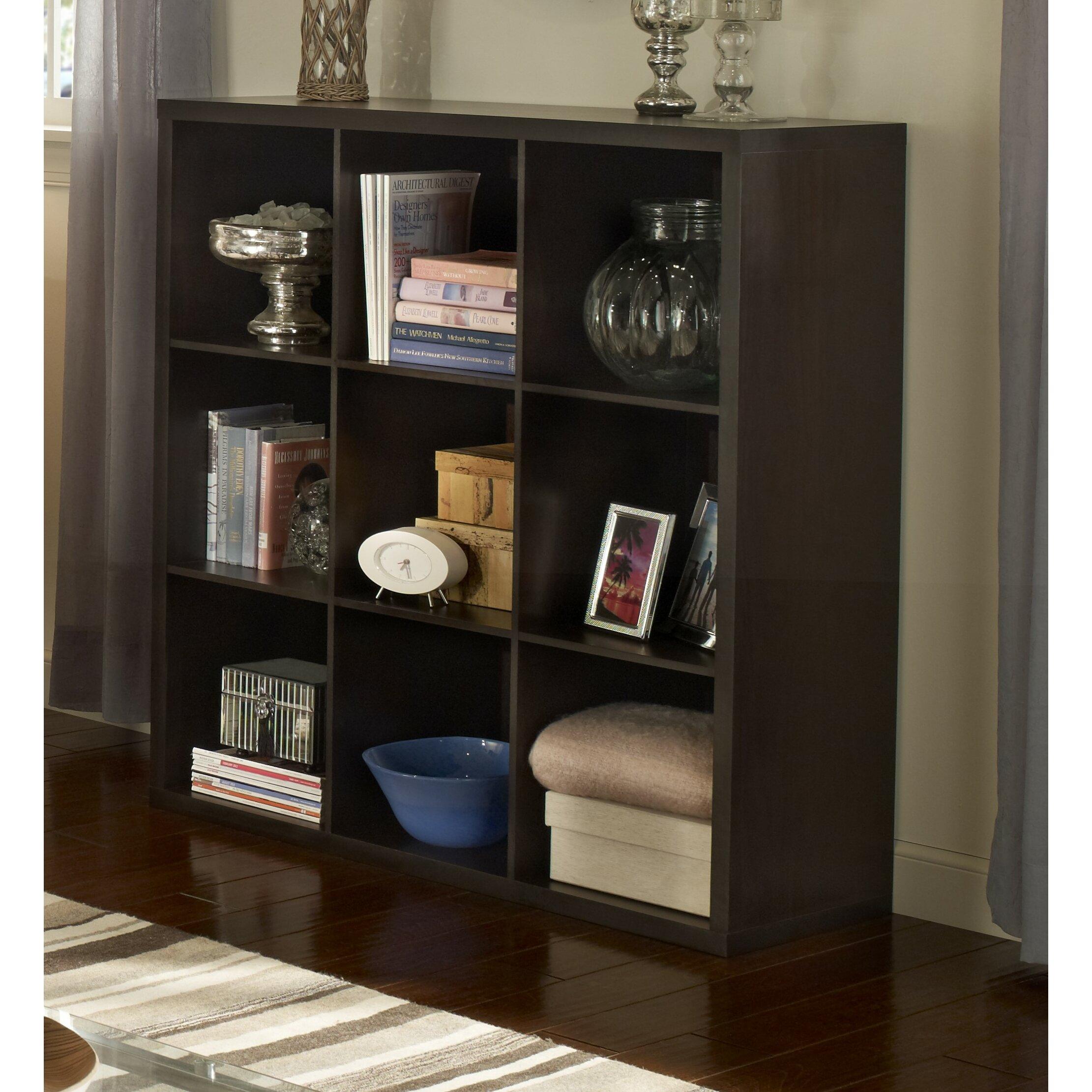 Superb ... Decorative Storage Units Closetmaid Decorative Storage 43 Quot Cube  Unit Bookcase Reviews Wayfair ...