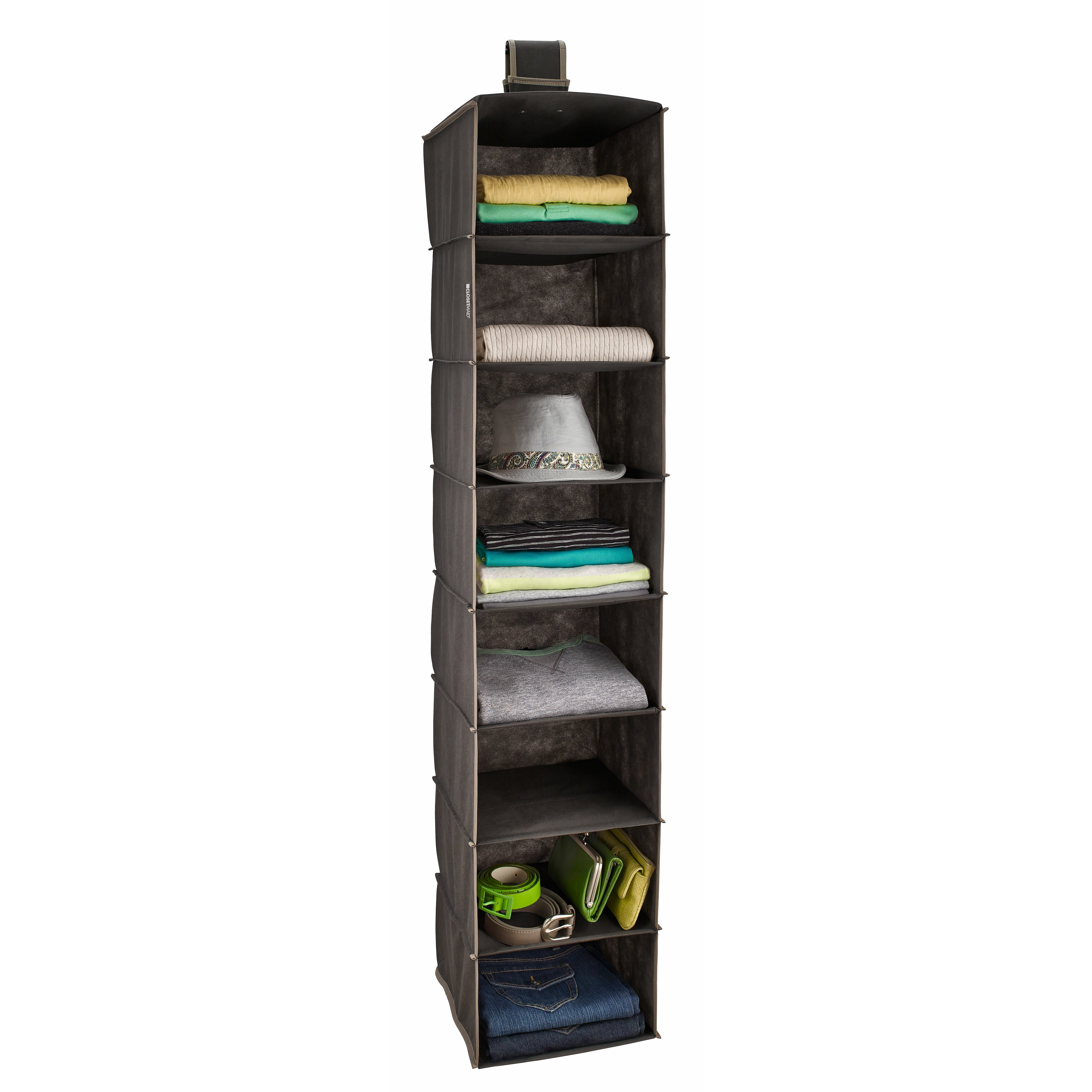 Closetmaid 8 shelf closet hanging organizer reviews for Where to buy closet organizers