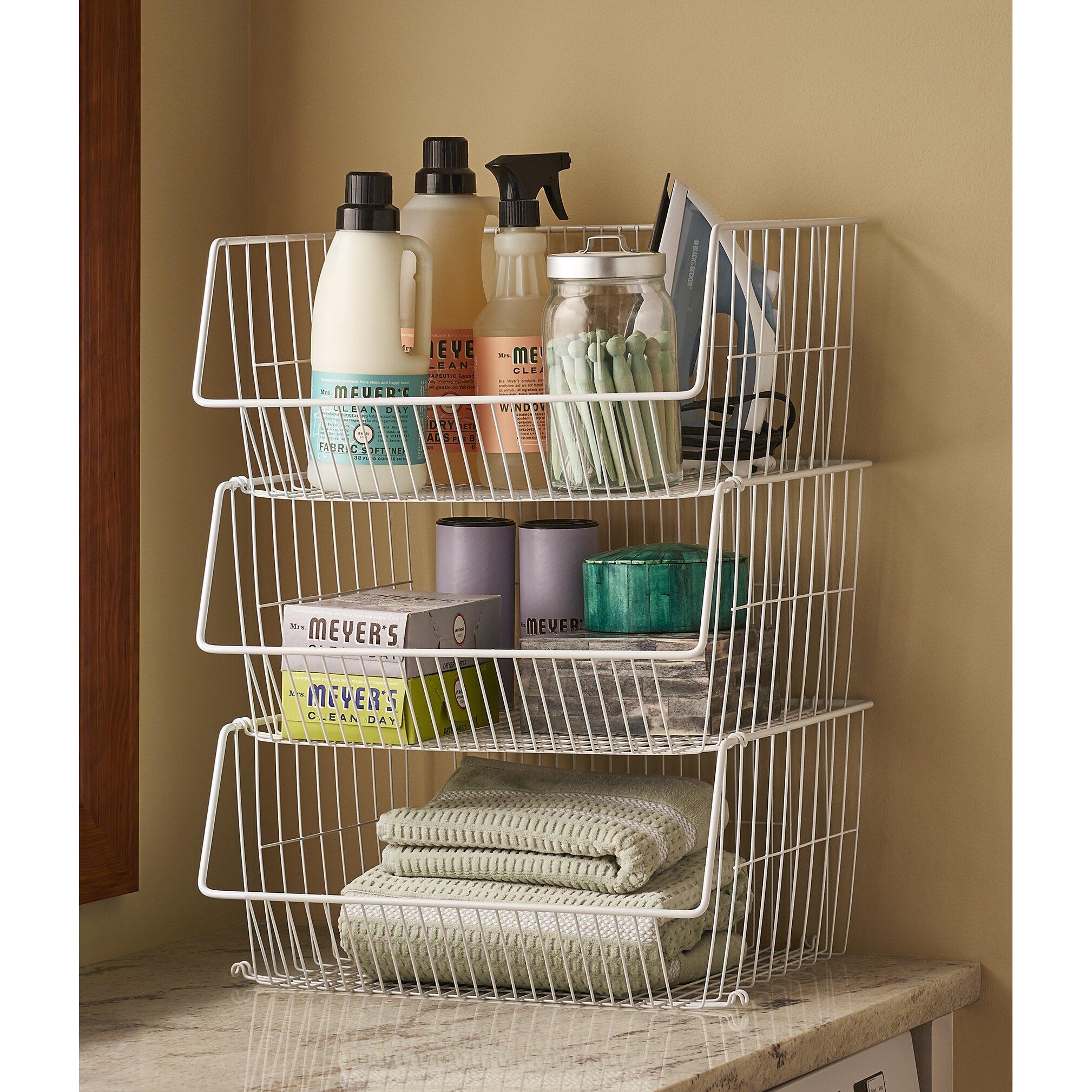 Closetmaid Baskets Closetmaid Storage Basket Reviews Wayfair