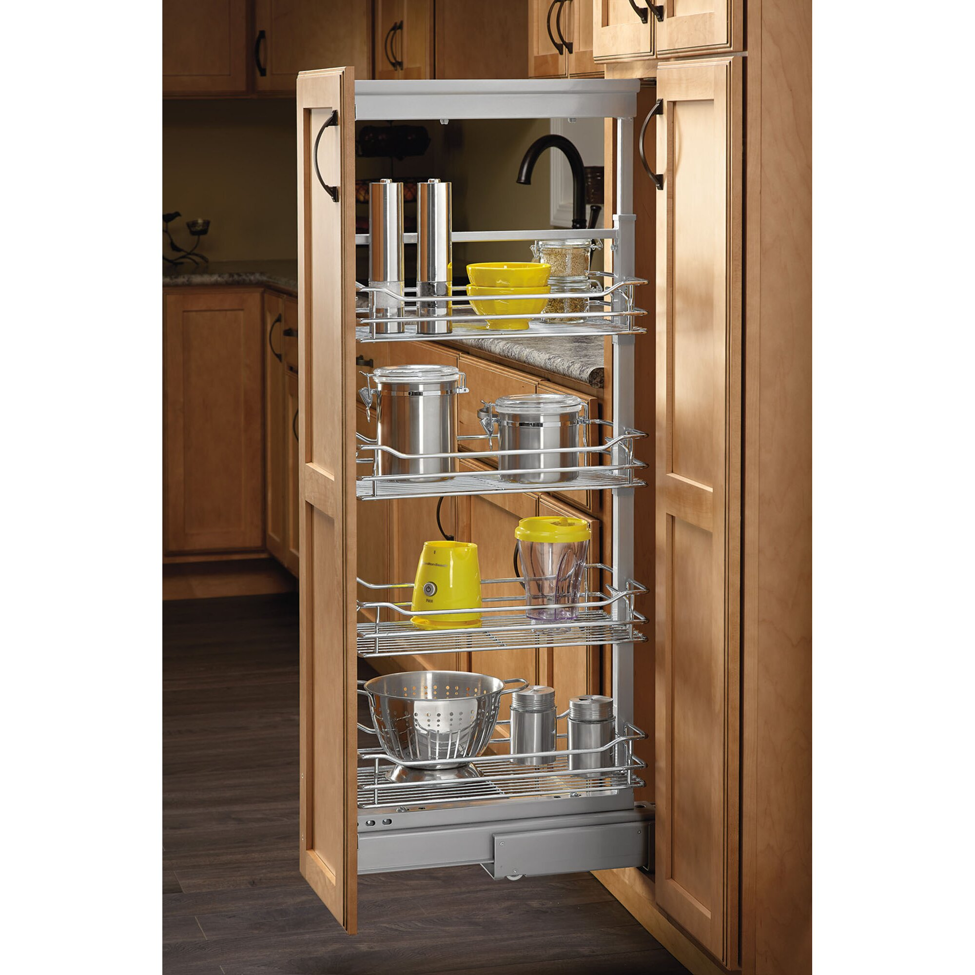 "Kitchen Pantry Lighting: Rev-A-Shelf 51"" Kitchen Pantry"