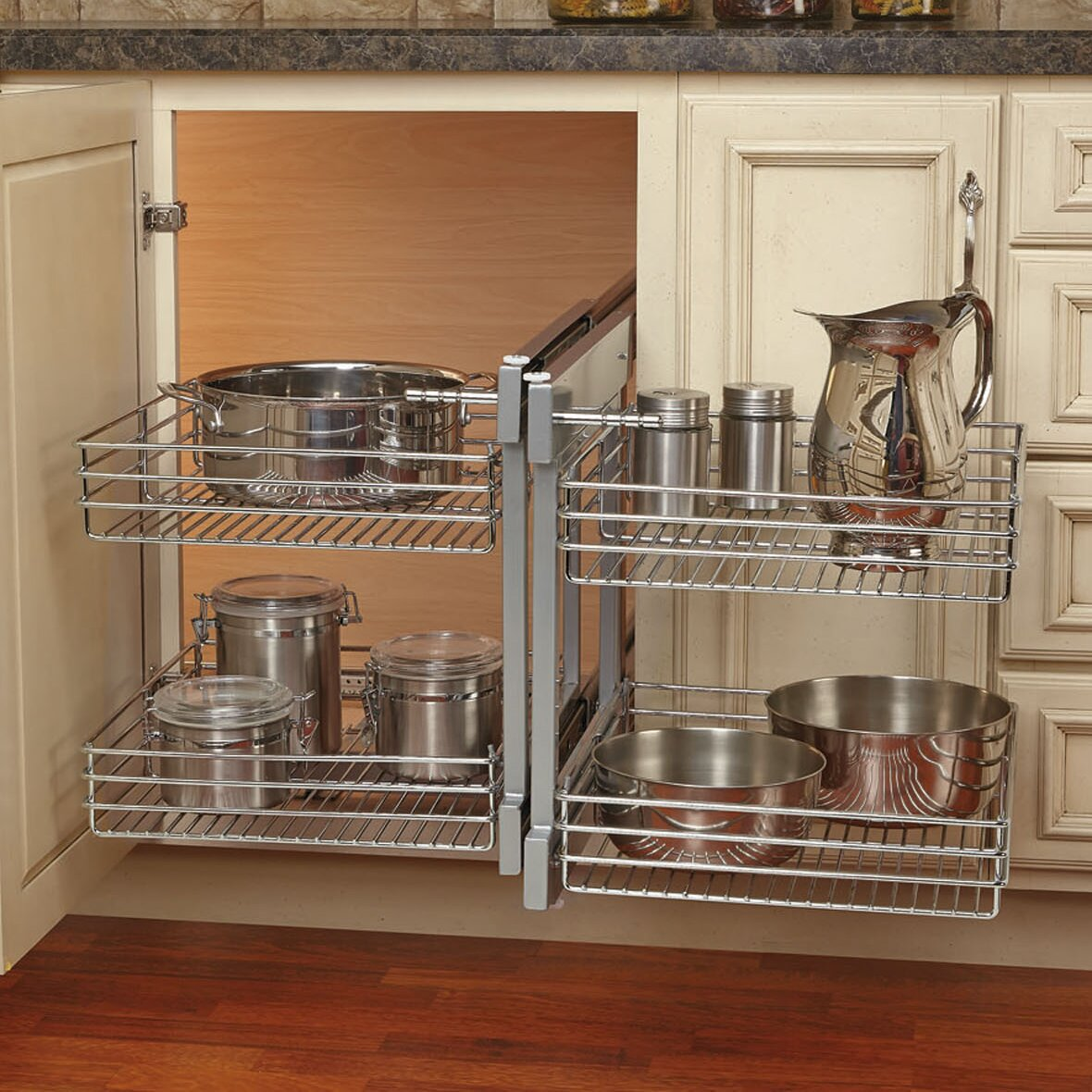 Blind Corner Optimizer Kitchen Cabinet
