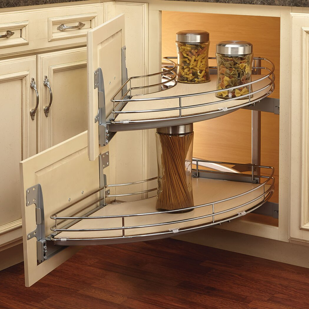 Rev A Shelf Curve Two Tier Right Handed Blind Corner