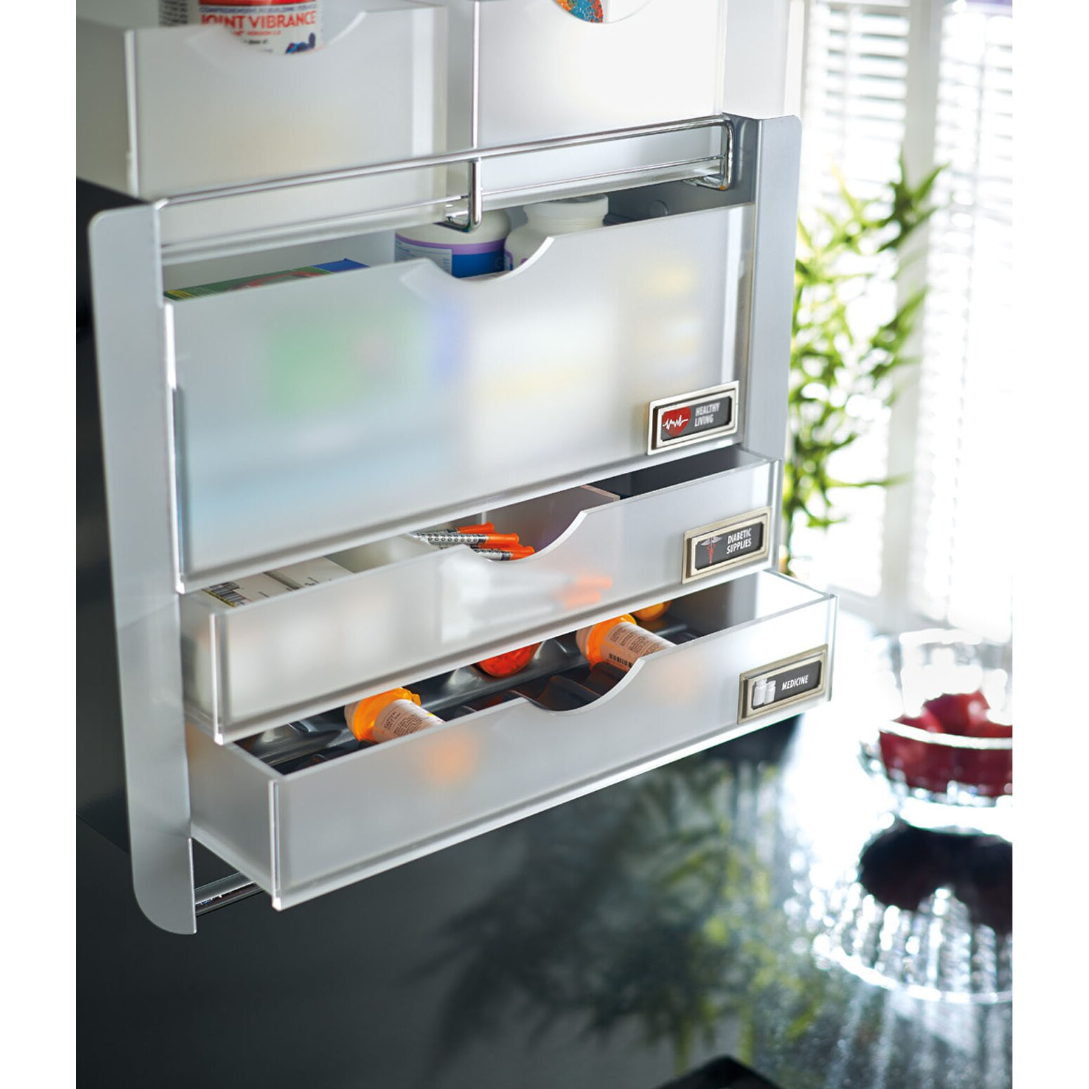Rev-A-Shelf Universal Wall Cabinet Pull-Down Shelving