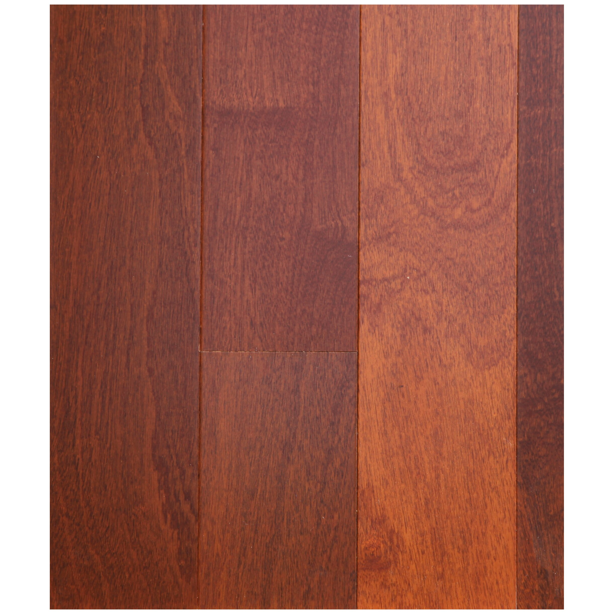 Easoon usa 3 1 2 engineered african mahogany hardwood for Mahogany flooring