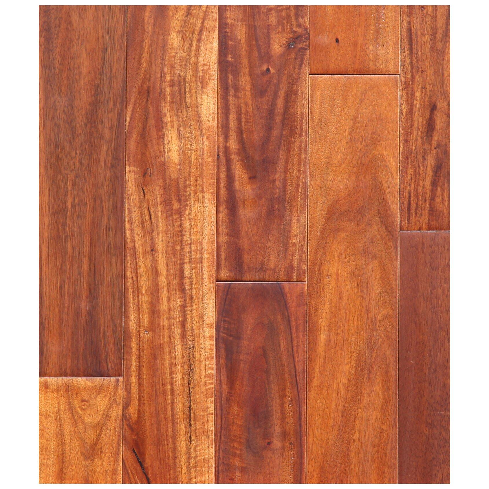 """Acacia Hardwood Flooring: Easoon USA 3-1/2"""" Engineered Pacific Acacia Hardwood"""