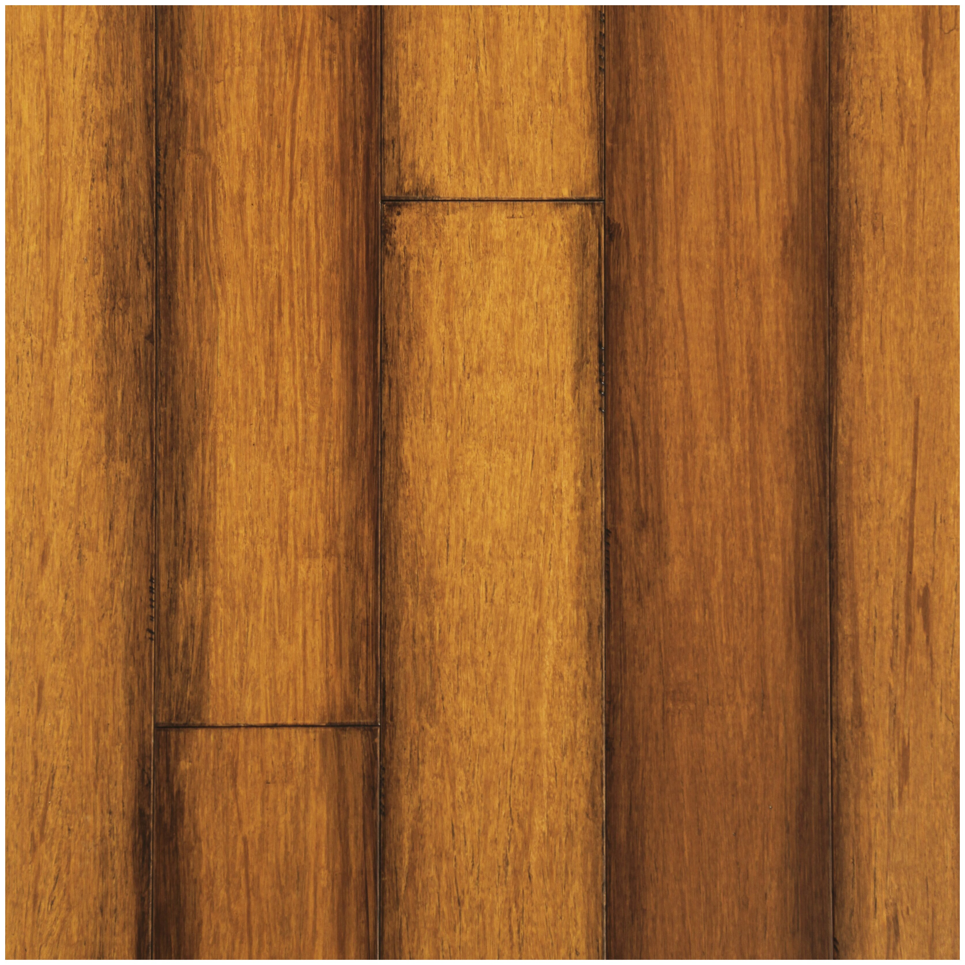 Easoon usa 5 quot engineered strand woven bamboo hardwood for Engineered bamboo flooring