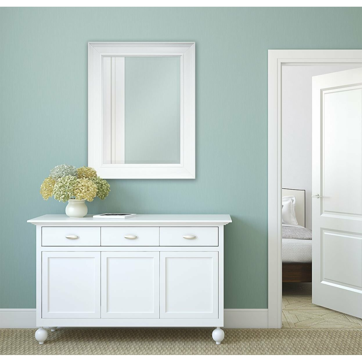 Mcsindustries Classic Beveled Mirror Wayfair