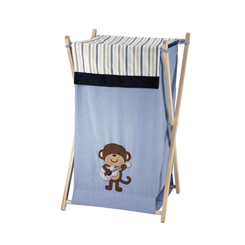 Carter 39 s monkey laundry hamper reviews wayfair - Monkey laundry hamper ...