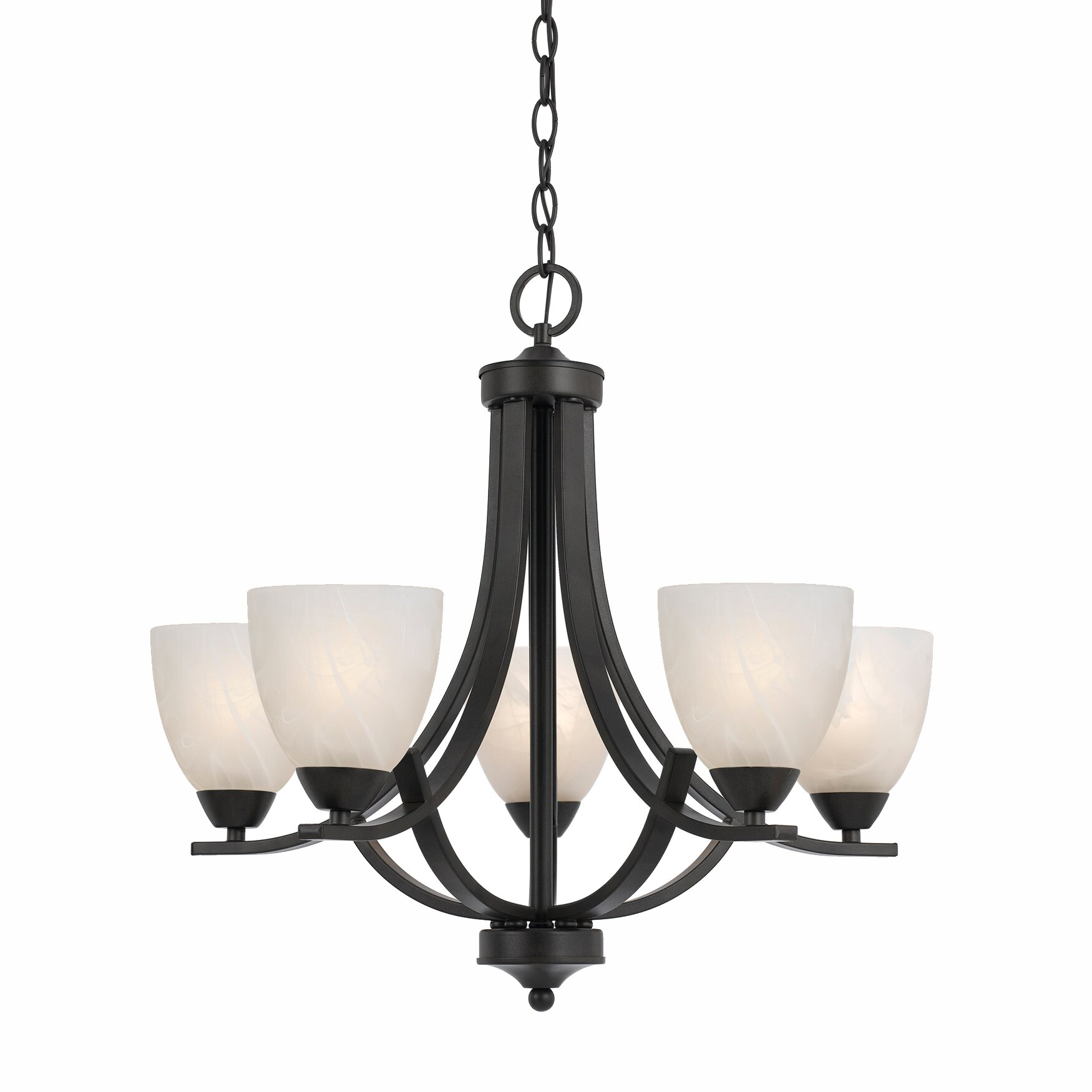 Lumenno value 5 light chandelier reviews wayfair - Lights and chandeliers ...