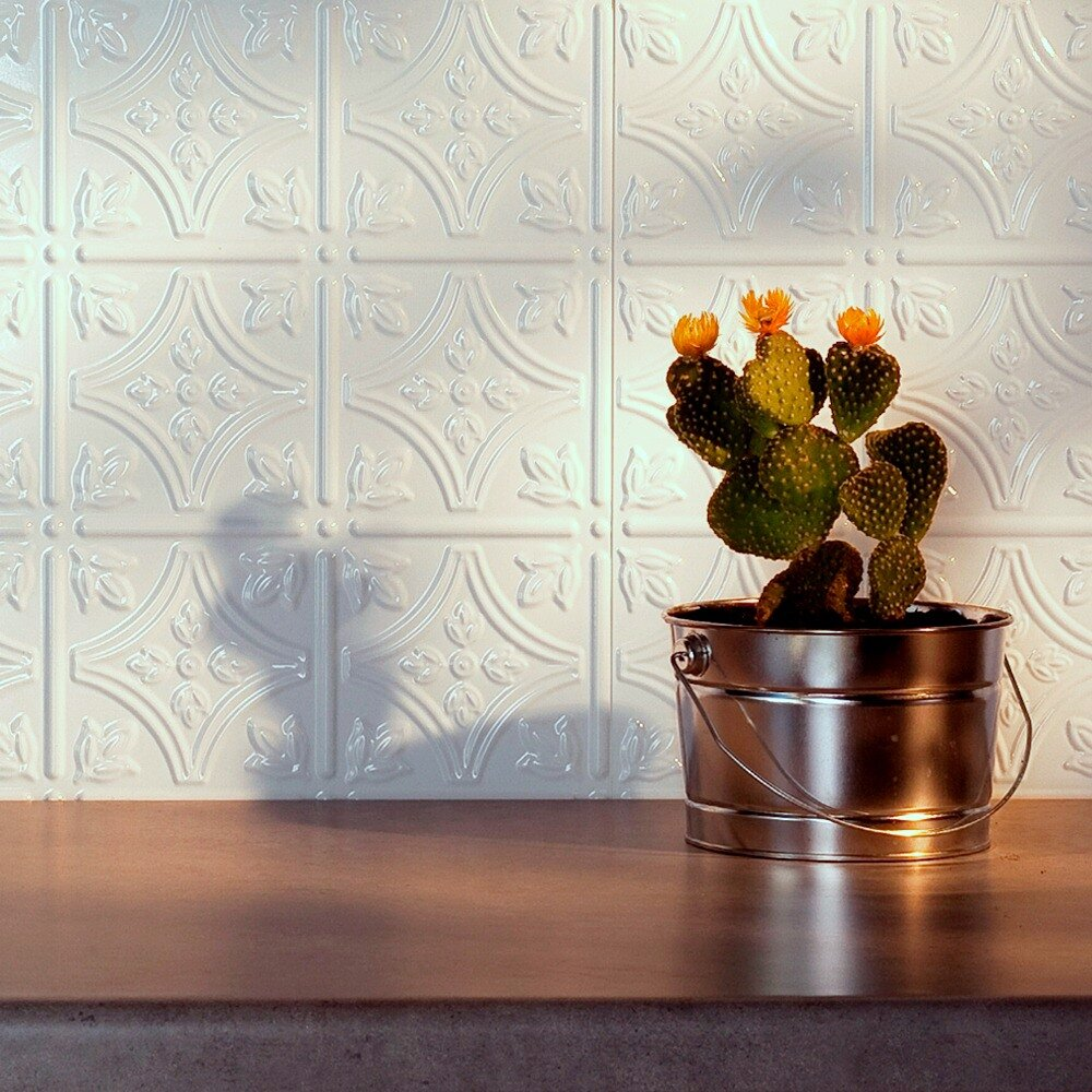 fasade traditional x pvc backsplash panel